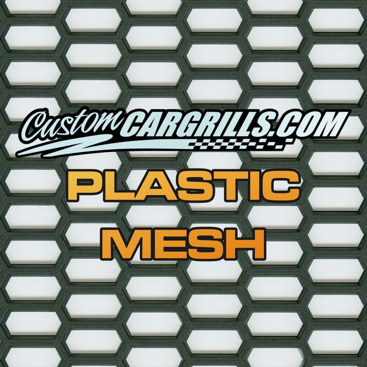 Plastic Grill Mesh Sheets by customcargrills
