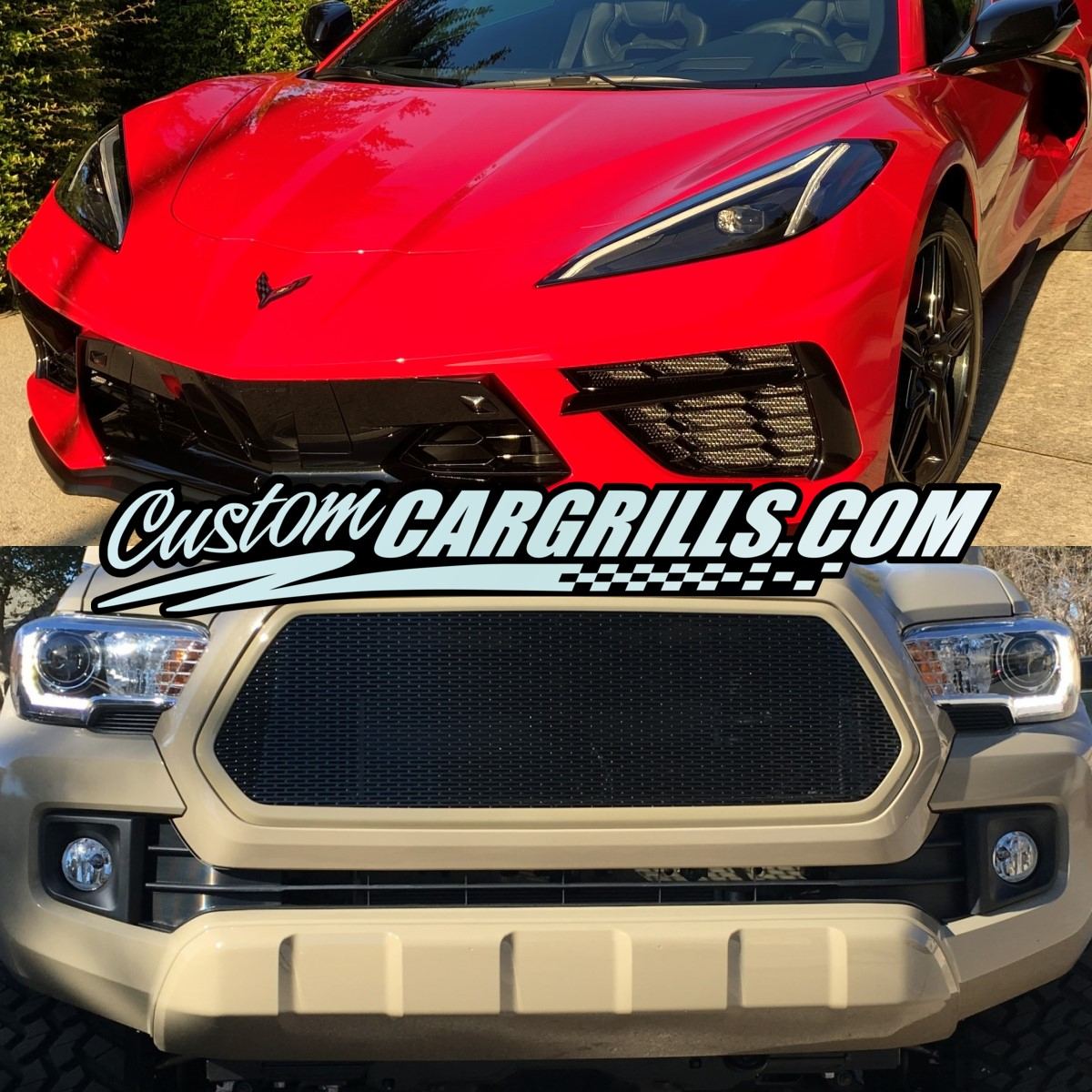customcargrills.com - Custom Car and Truck Grills - Mesh Grill Sheets and More