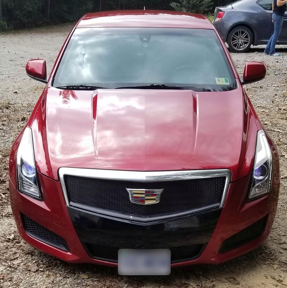Cadillac Ats 2012: 2013-2014 Cadillac ATS Mesh Grill Insert By Customcargrills
