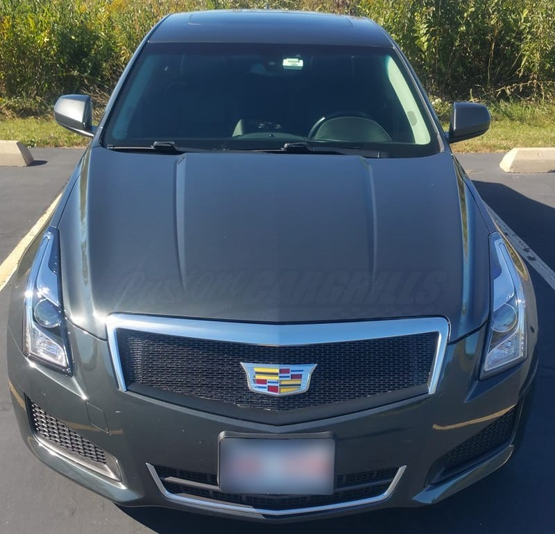 14 Cadillac Ats: 2013-2014 Cadillac ATS Mesh Grill Insert By Customcargrills