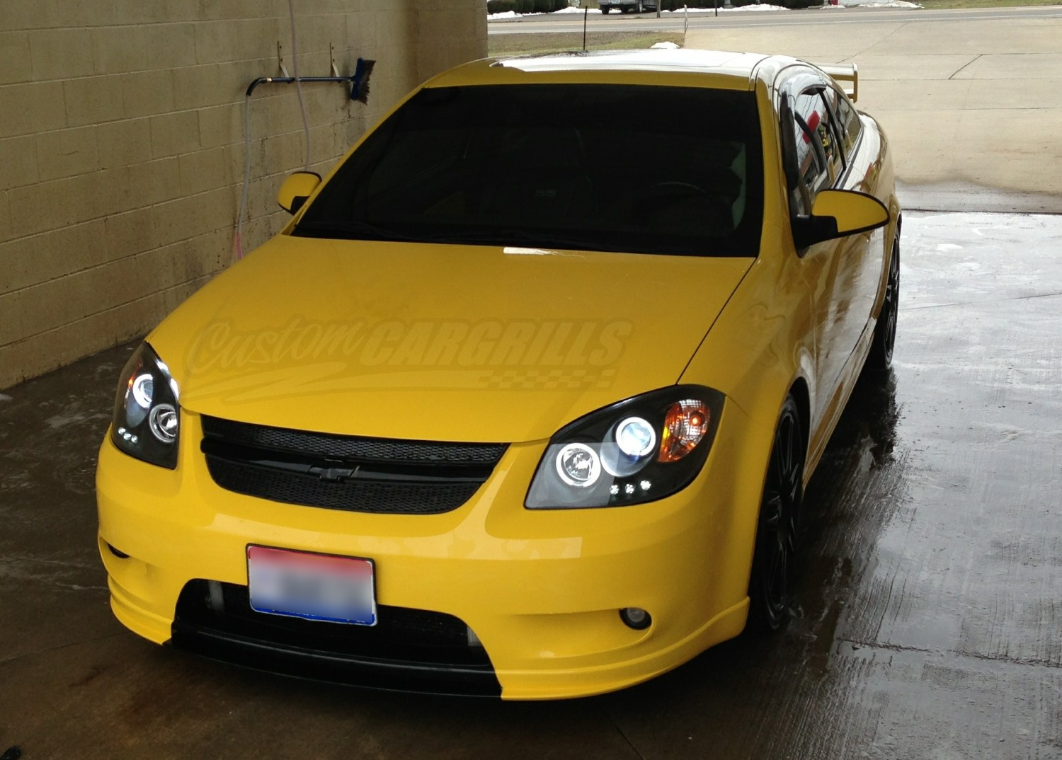 All Chevy 2005 chevy colbalt : 2005-10 Chevrolet Cobalt Mesh Grill Kit by customcargrills