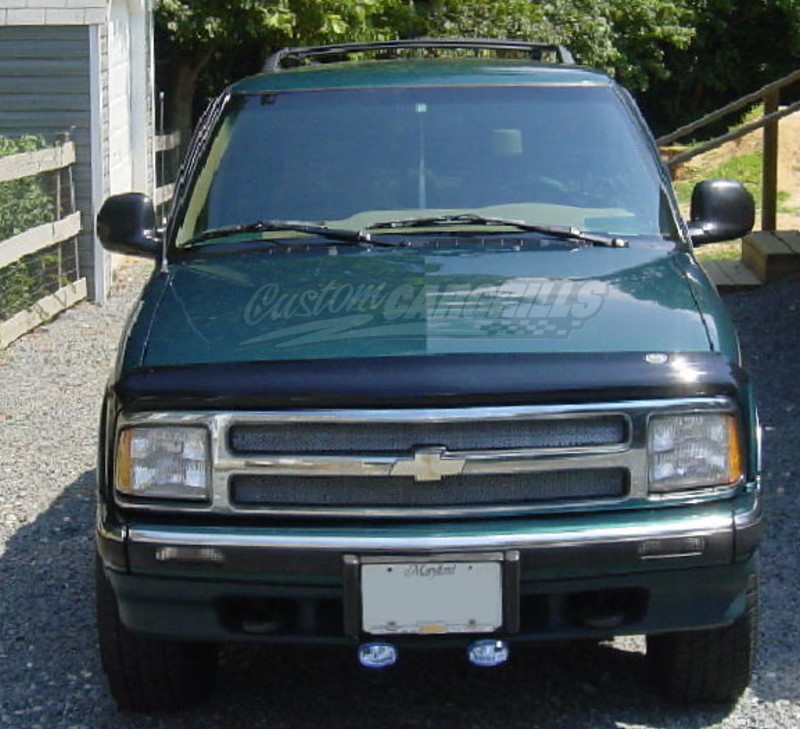 chevy s10 steering column wiring diagram images well upper insert 1991 1992 chevy s 10 blazer front grill upper aluminum
