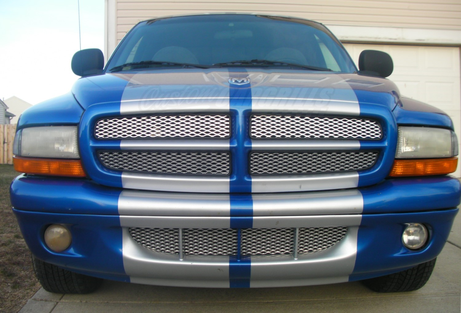 Diamond Mesh Grill For Dodge Dakota on Dodge Dakota Custom Grill
