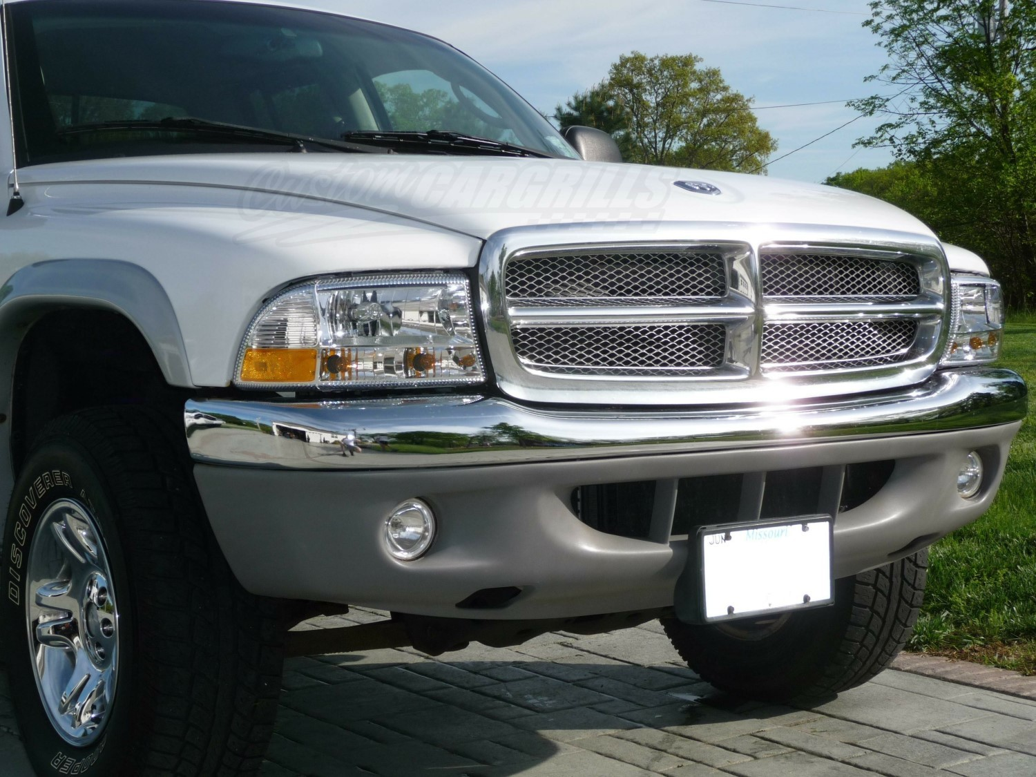 Diamond Mesh Grill For Dodge Dakota on 2007 Dodge Caravan Specs