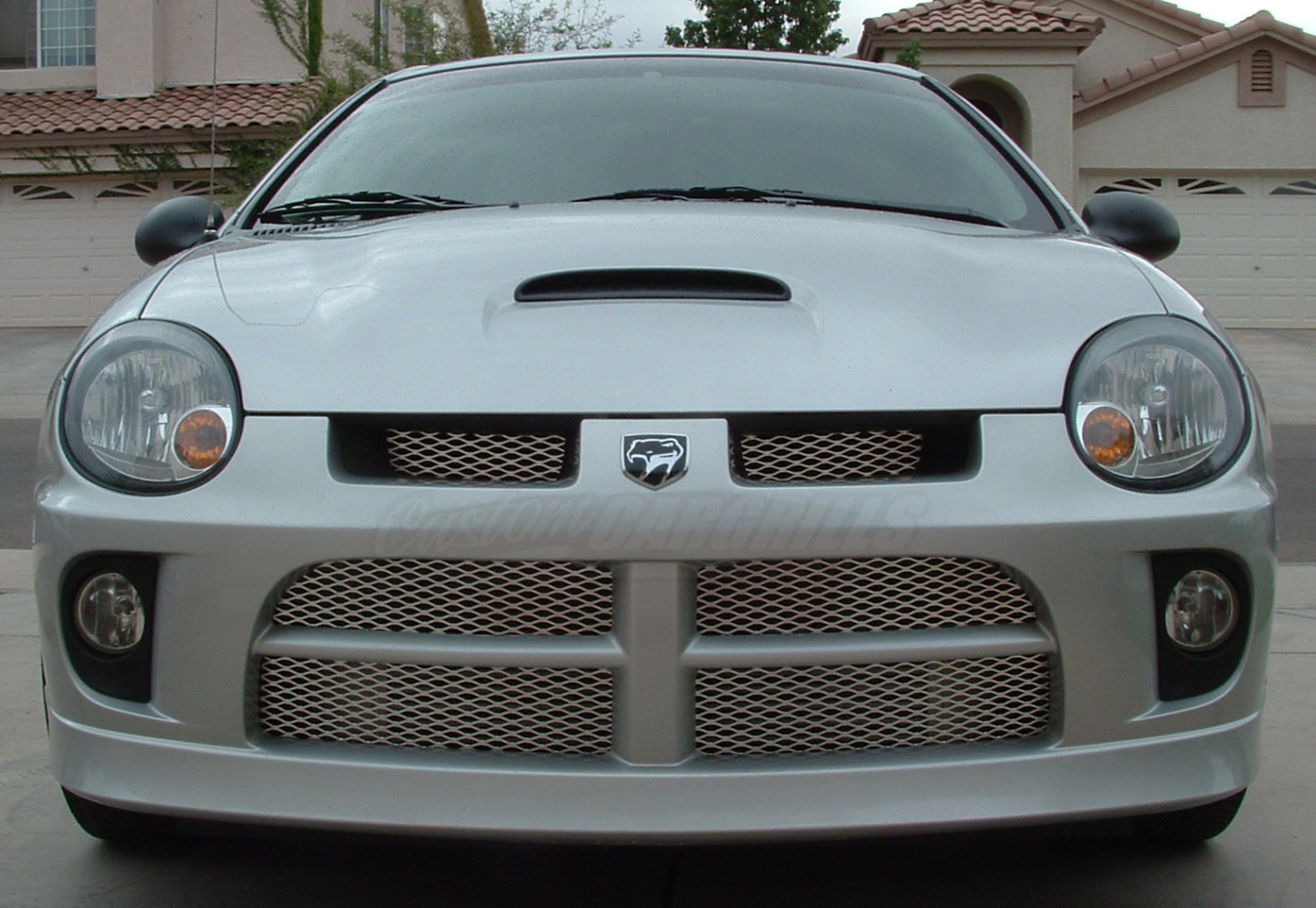 2003 2005 Dodge Neon Srt 4 Mesh Grill Inserts By