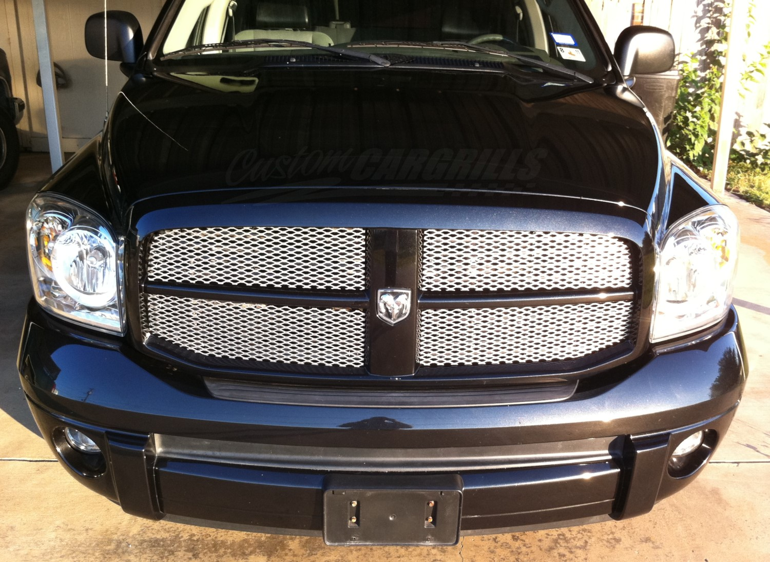 2006 2008 Dodge Ram Mesh Grill Inserts By Customcargrills