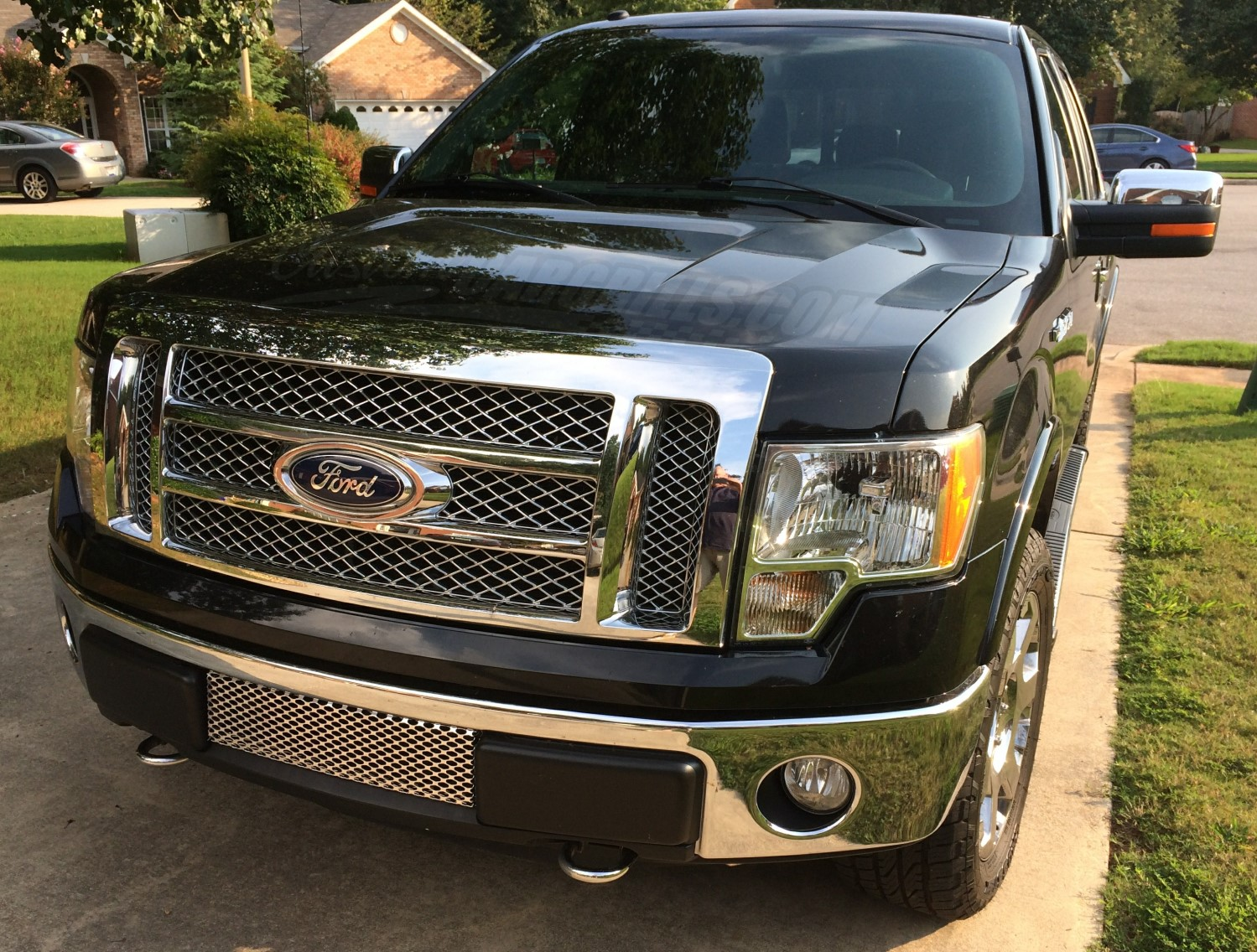 2009-2013 Ford F-150 Mesh Grill Insert kit by customcargrills