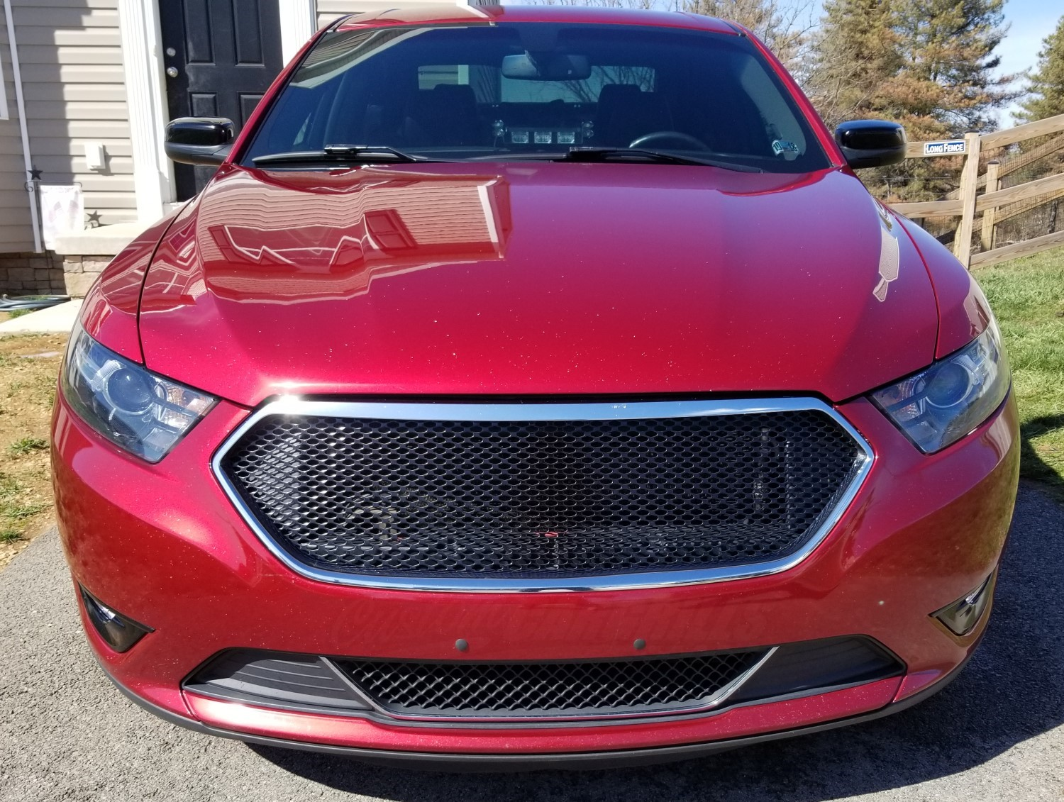 2013-17 Ford Taurus Mesh Grill Insert by customcargrills