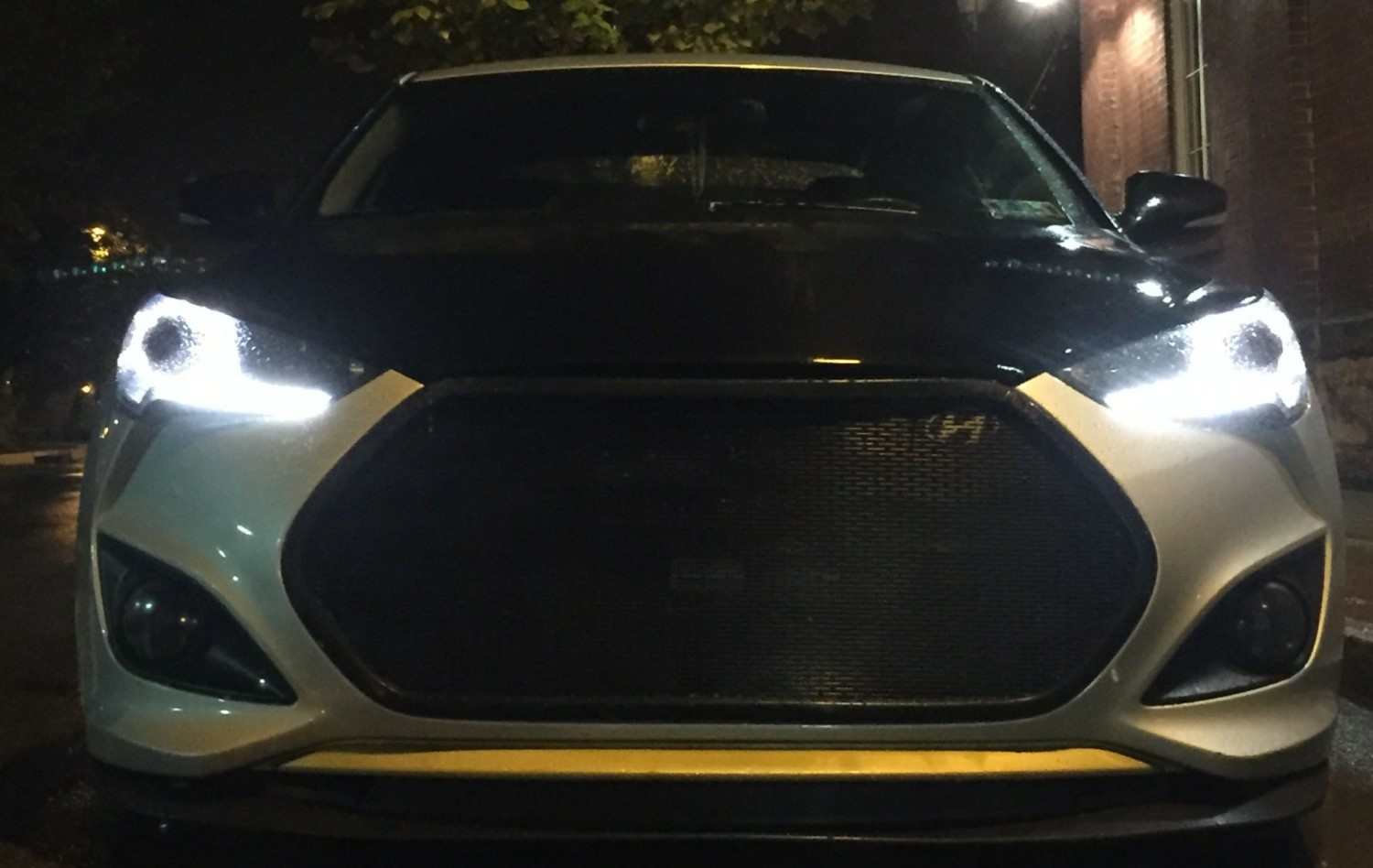Hyundai Veloster Turbo Front Mesh Grill on Show Product Code