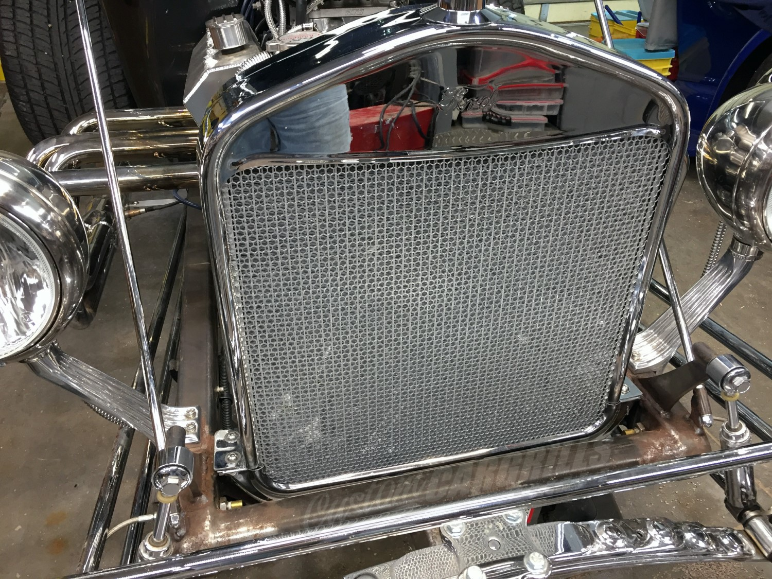 Hexagon Grill Mesh Sheets By Customcargrills