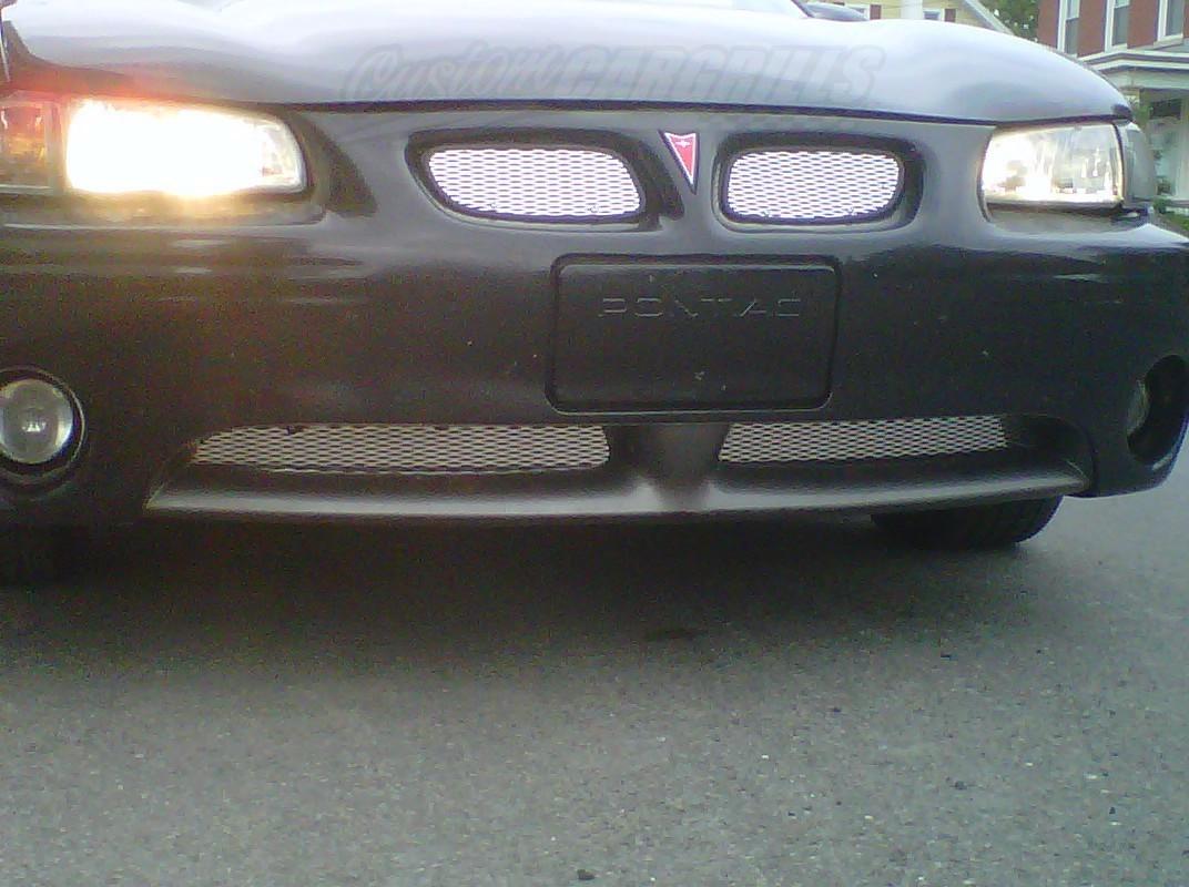 Pontiac 2005 pontiac grand prix gxp : Custom Grill Mesh Kits for Pontiac Vehicles by customcargrills.com