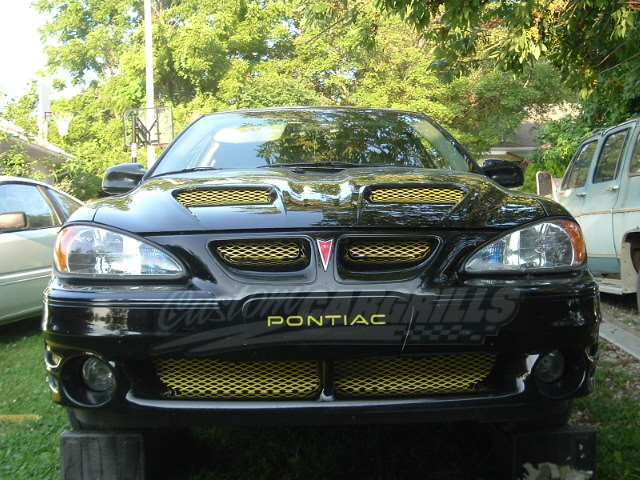 1999 05 Pontiac Grand Am Gt Mesh Grill Insert Kit By