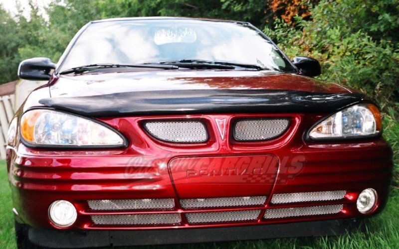 1999 05 pontiac grand am se mesh grill kit by customcargrills. Black Bedroom Furniture Sets. Home Design Ideas