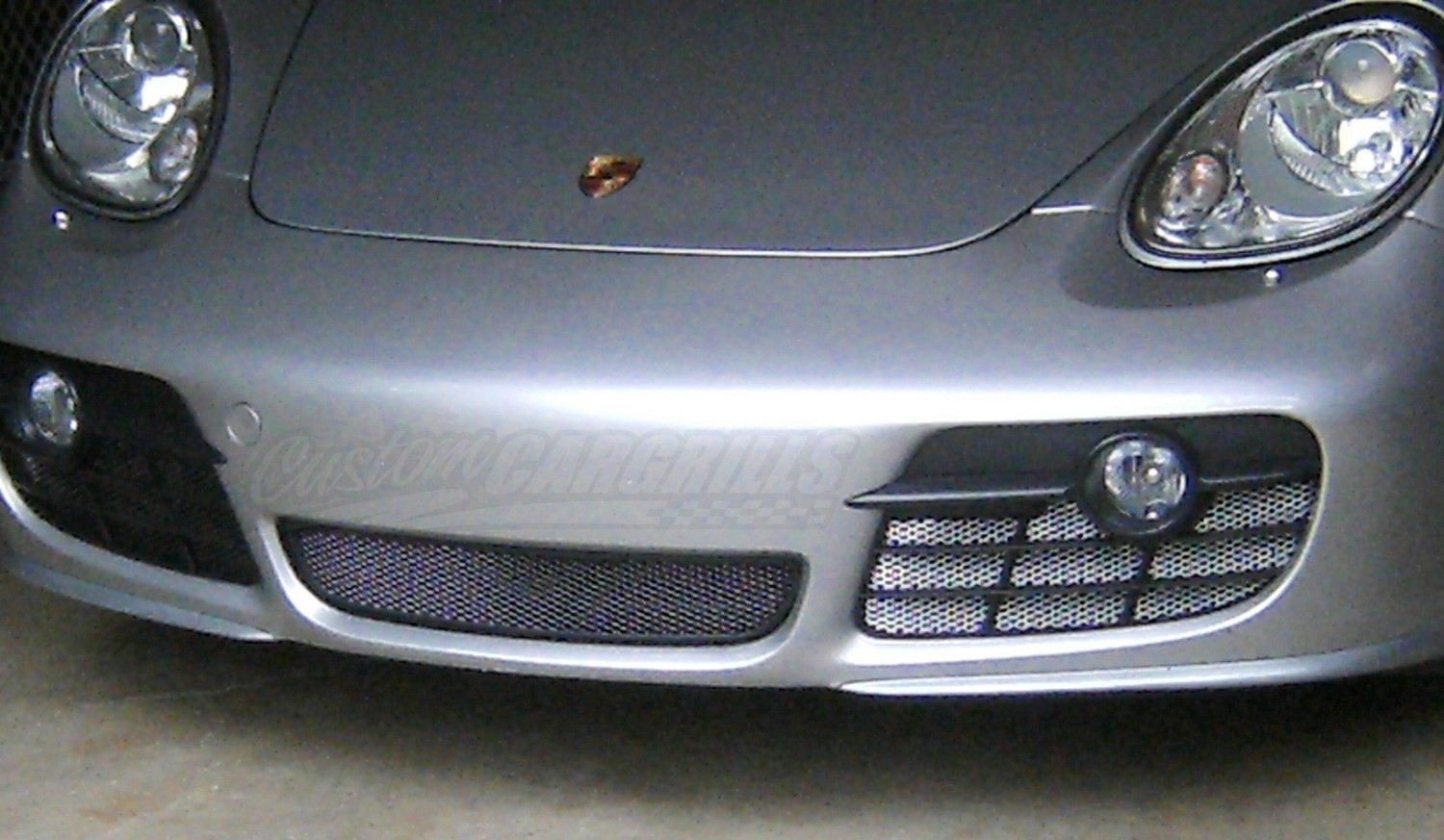 2006 08 Porsche Cayman Mesh Grill Inserts By Customcargrills
