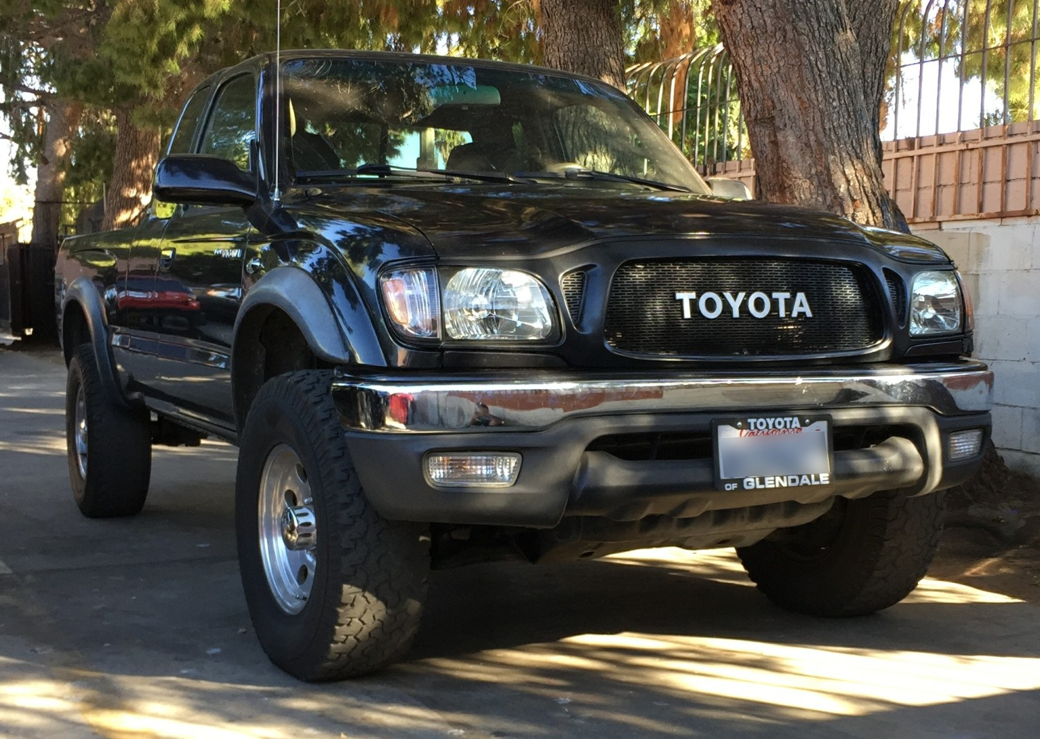 2001 04 Toyota Tacoma Mesh Grill Builder By Customcargrills
