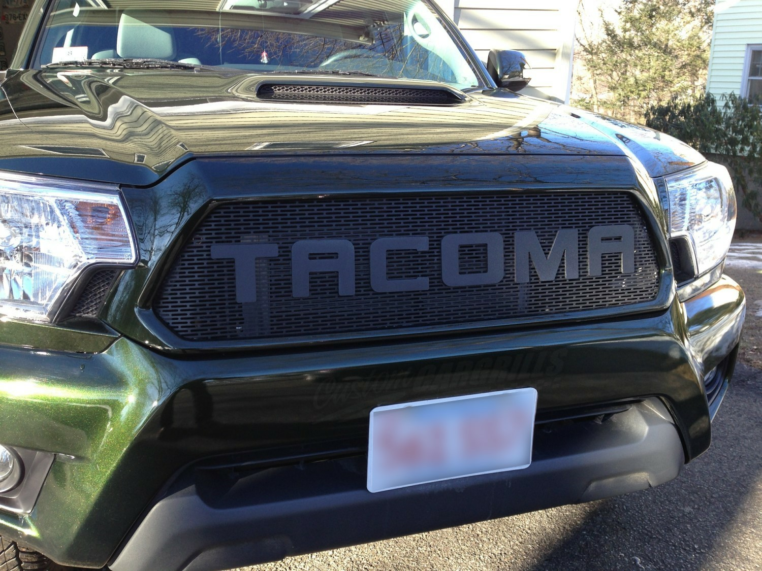 2012 15 Toyota Tacoma Mesh Grill Insert By Customcargrills