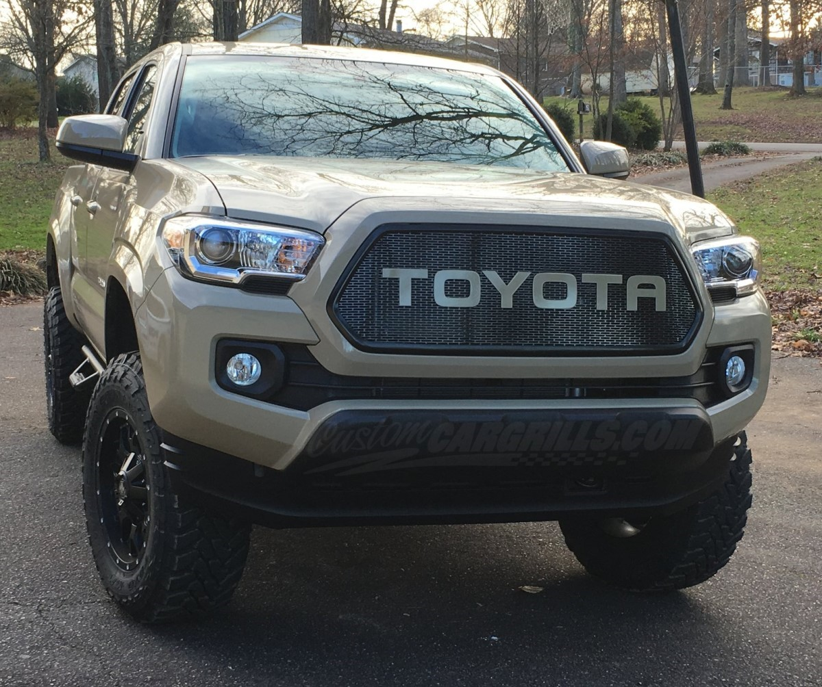 Custom Mesh Grills For Toyota Vehicles By Customcargrills.com