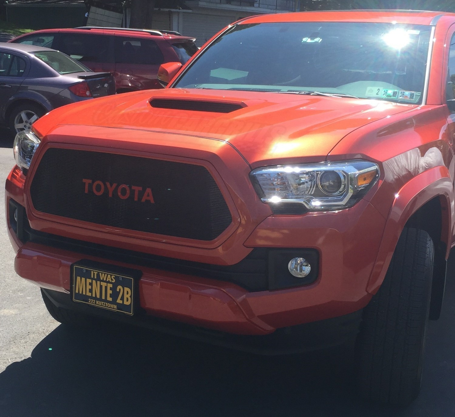 2016-2017 Toyota Tacoma Custom Grills By Customcargrills.com