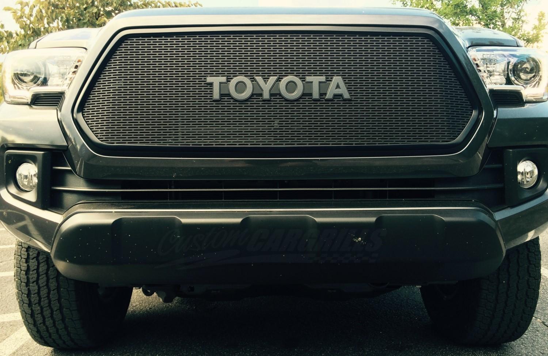 Toyota Tacoma Custom Grill.html   Autos Post