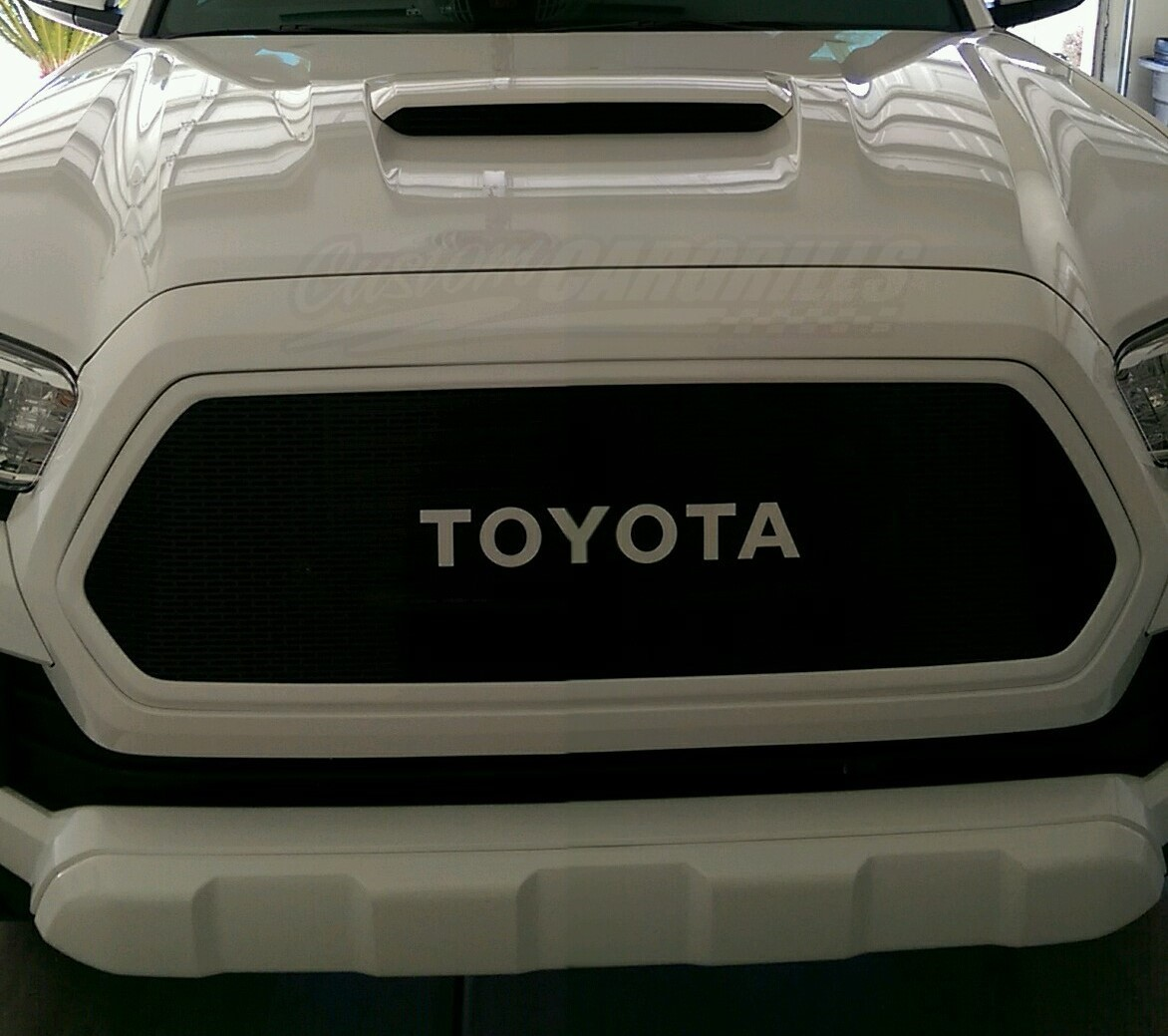2016 2017 Toyota Tacoma Mesh Grill Amp Bezels By