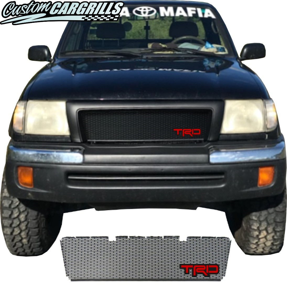 1998-2000 Toyota Tacoma Grill Mesh With TRD Emblem