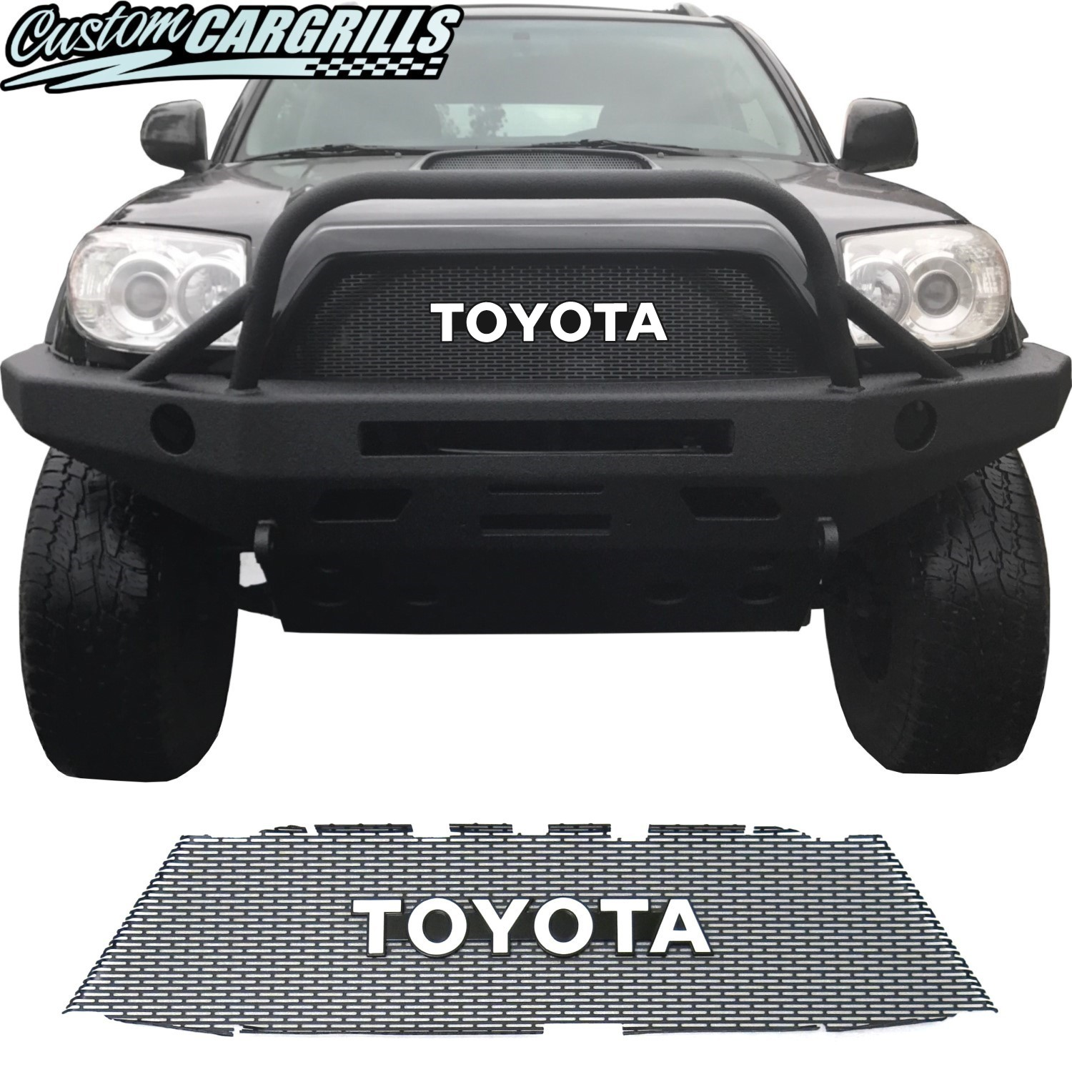 2006-09 Toyota 4Runner Grill Mesh with Toyota Emblem