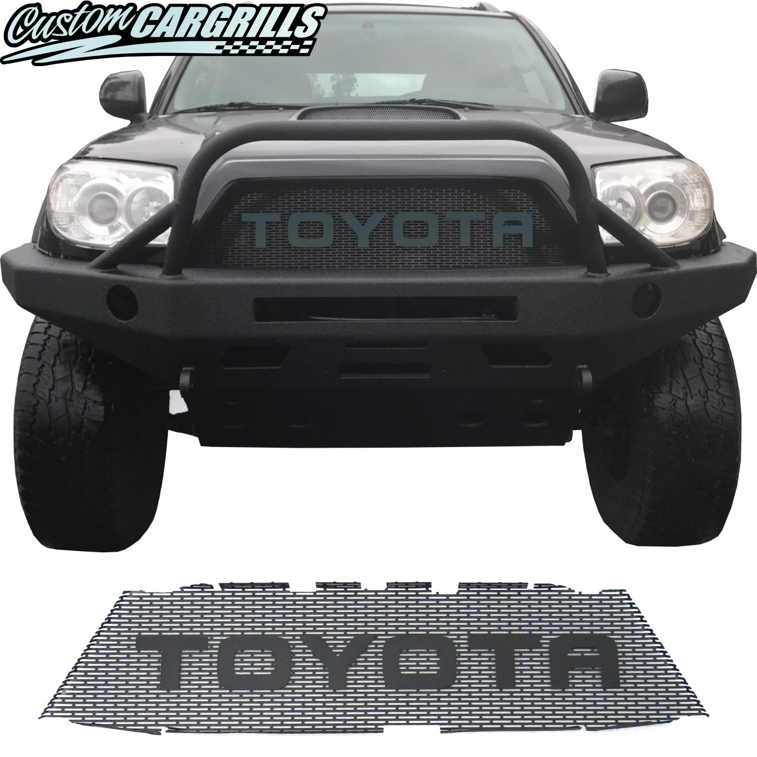 2006-09 Toyota 4Runner Grill Mesh with Big Letters