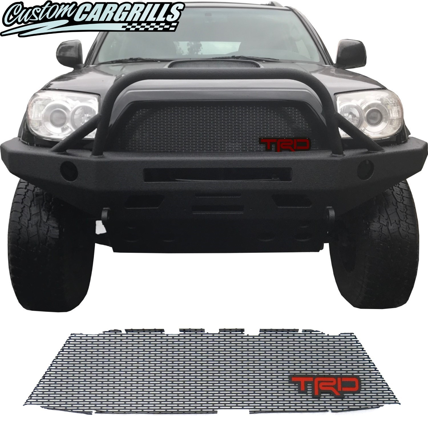 2006-09 Toyota 4Runner Grill Mesh with TRD Emblem