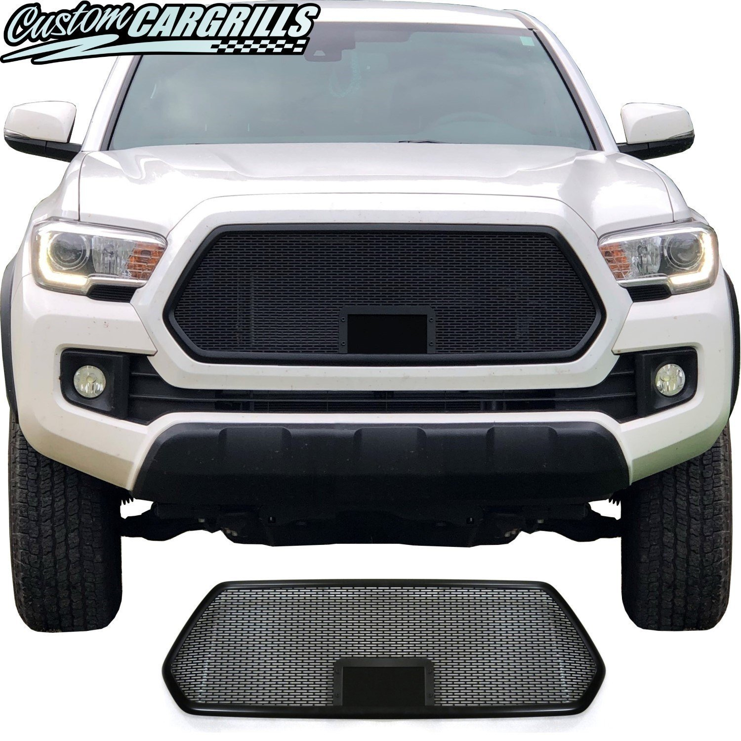 2018 - 2019 Toyota Tacoma Mesh Grill with Bezel