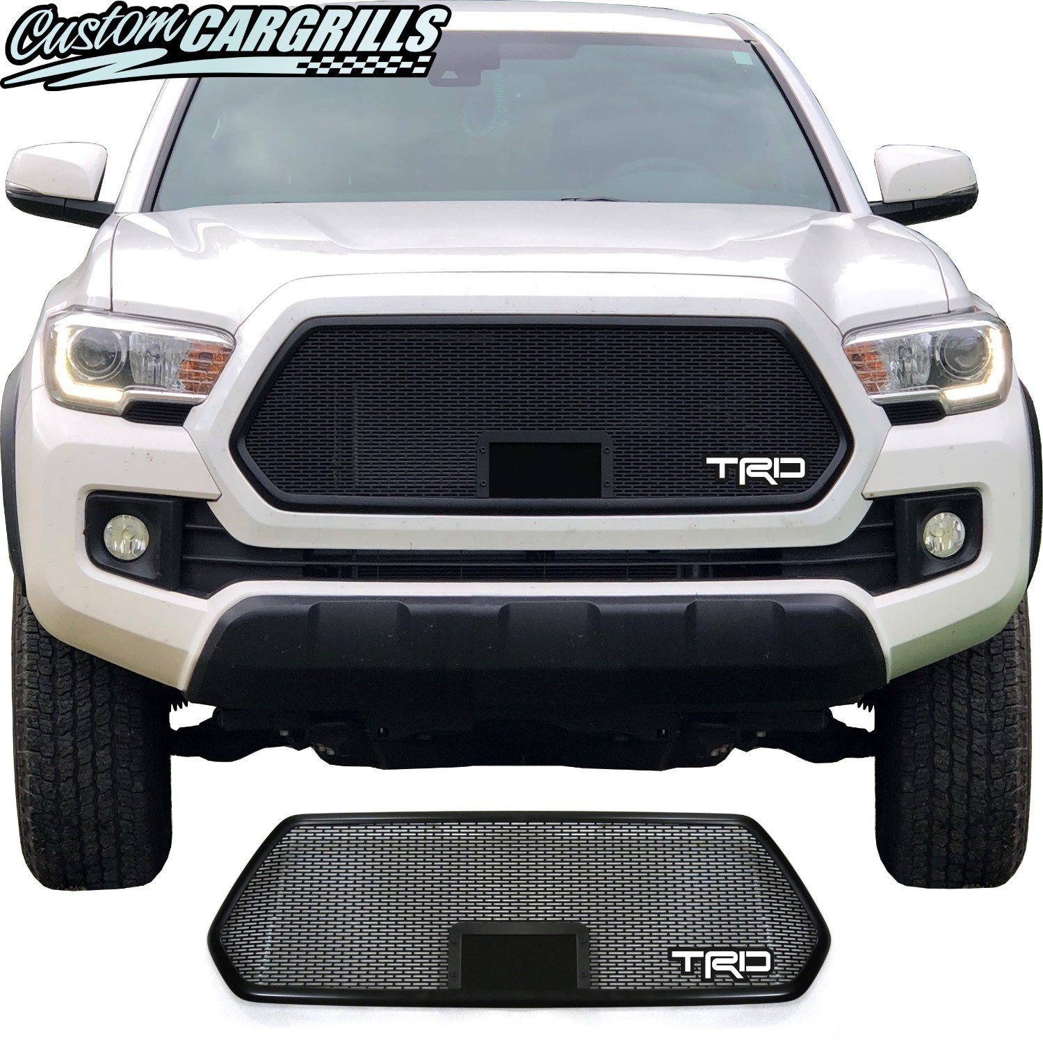 2018 - 2019 Toyota Tacoma Mesh Grill with Bezel and TRD