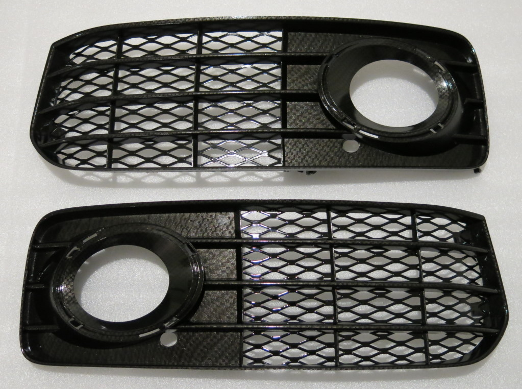 2008-12 Audi A5 Replacement Fog Light Grills