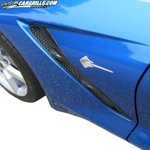 2014-16 Chevy Corvette Front Fender Grill Set
