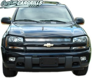 02-05 Chevrolet Trailblazer Mesh Grill Kit