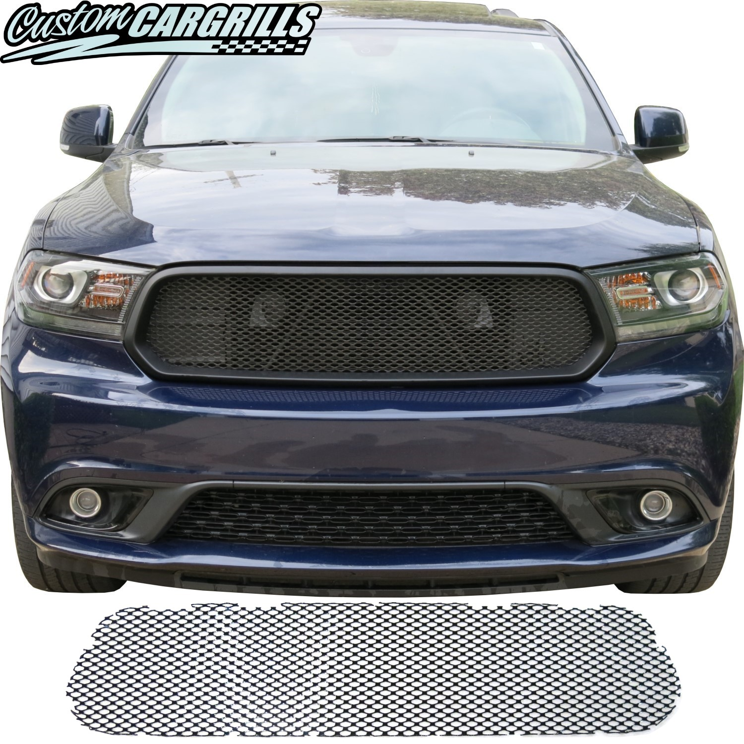 2014 2020 Dodge Durango Grille Mesh Piece By Customcargrills