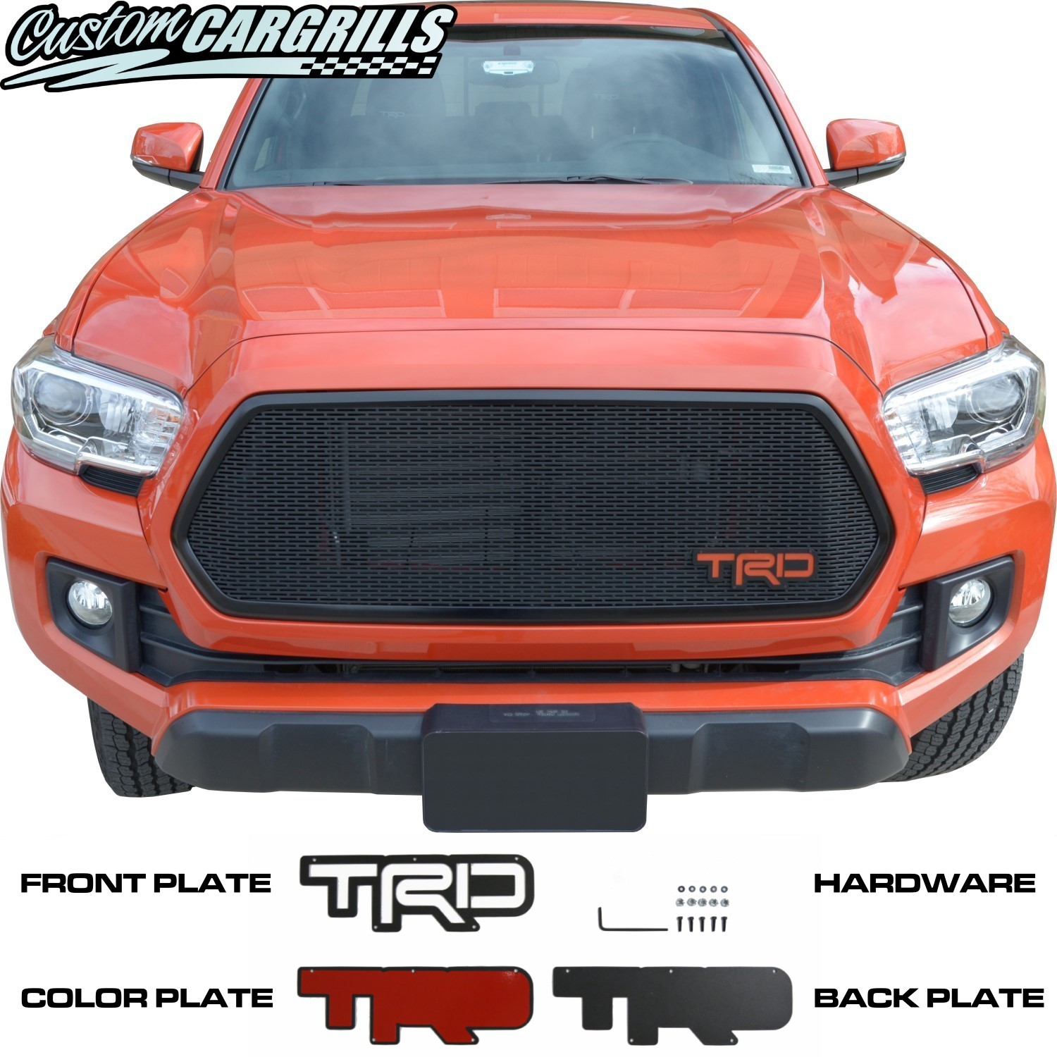2.25in x 7in TRD Three Piece Lettering Plate