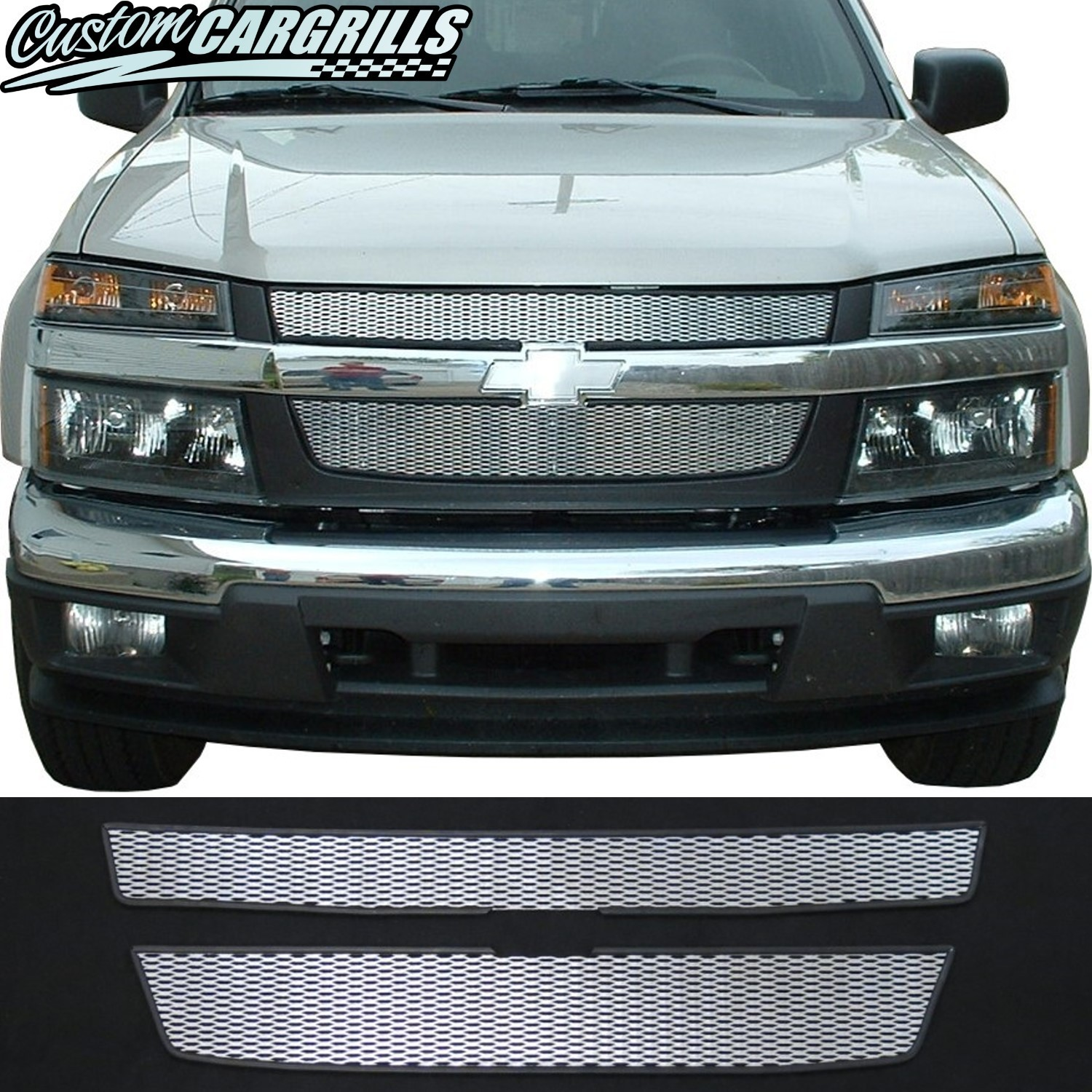 2004-12 Chevrolet Colorado Mesh Grill Kit