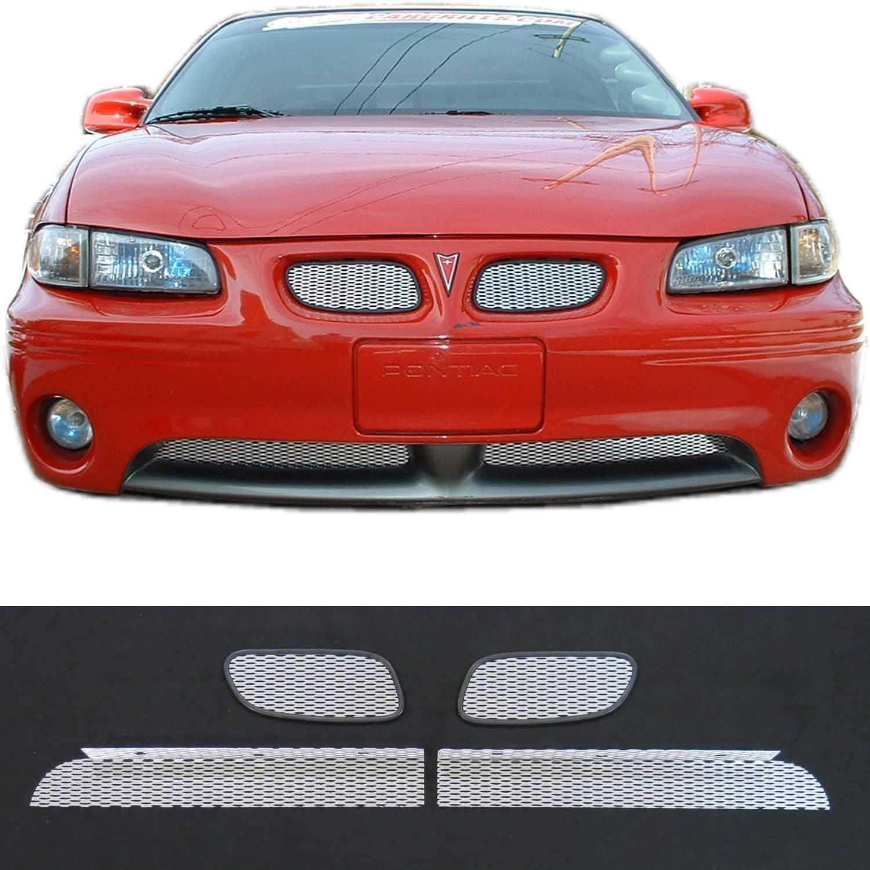 1997 03 pontiac grand prix gt gtp mesh grill insert kit by customcargrills 1997 03 pontiac grand prix gt gtp 2001 03 se mesh grill kit