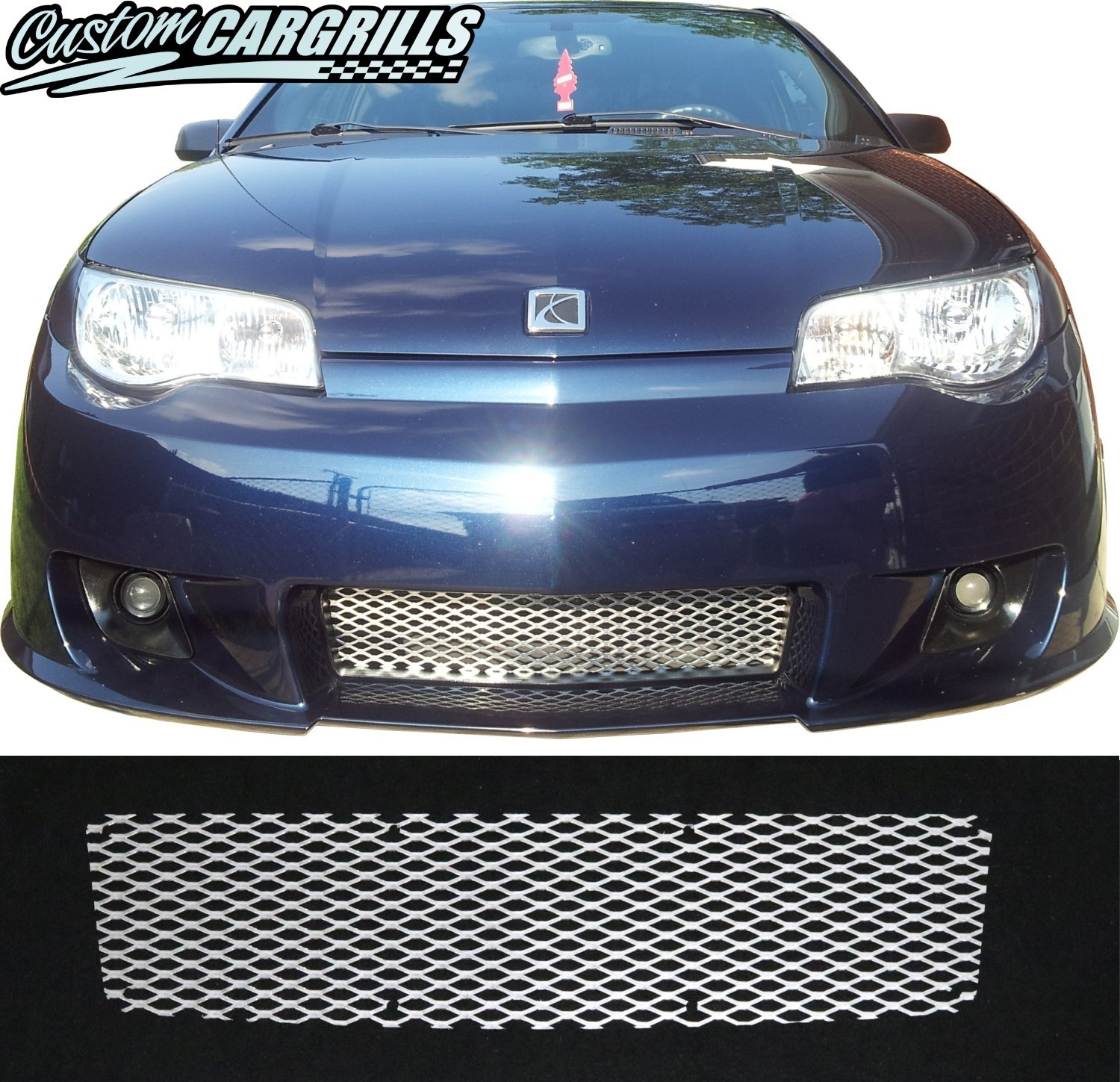 2004 07 saturn ion redline grill insert by customcargrills 2004 07 saturn ion redline mesh grill kit vanachro Image collections