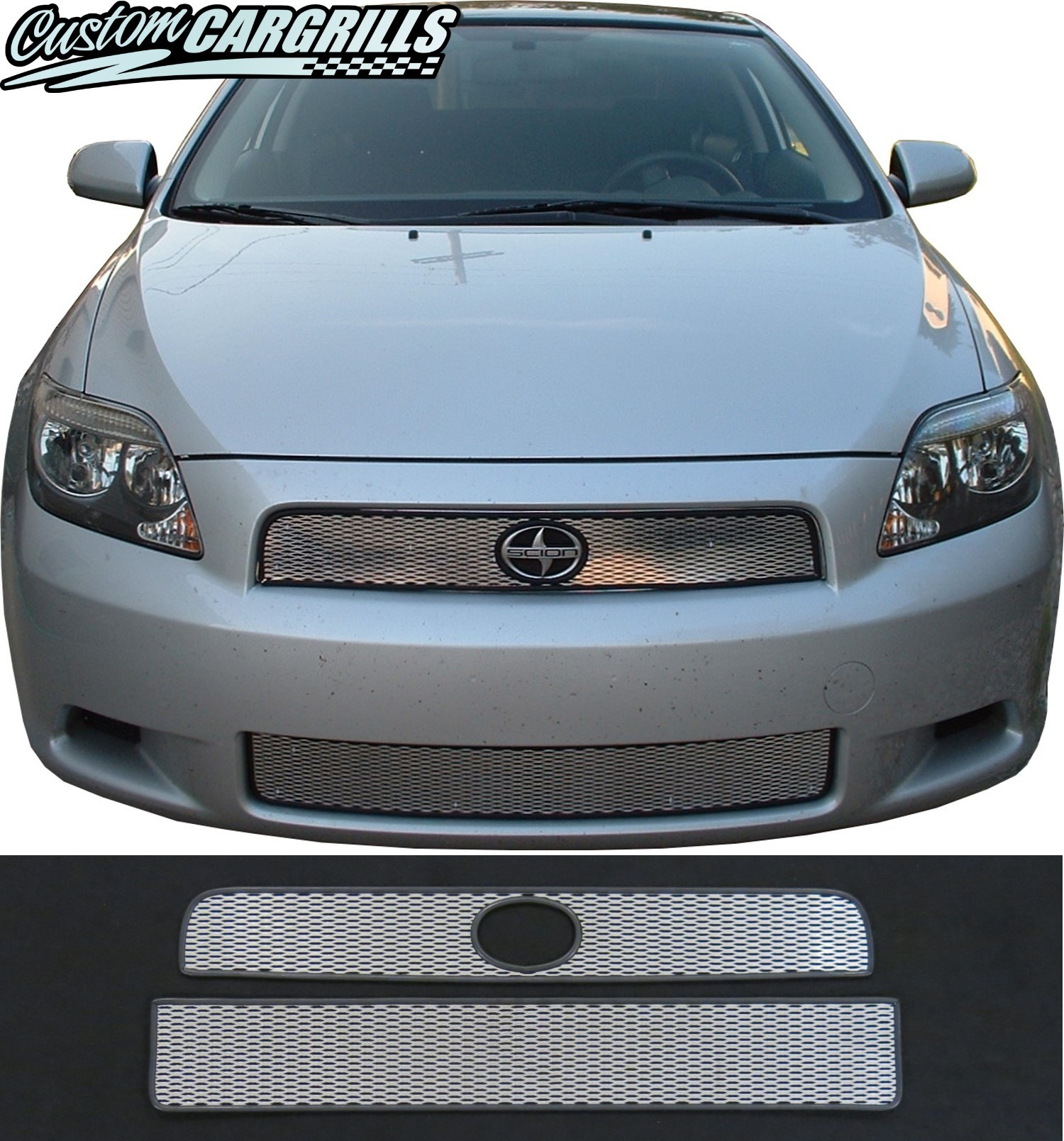 Custom Grill Mesh Kits for Scion Vehicles by customcargrills.com