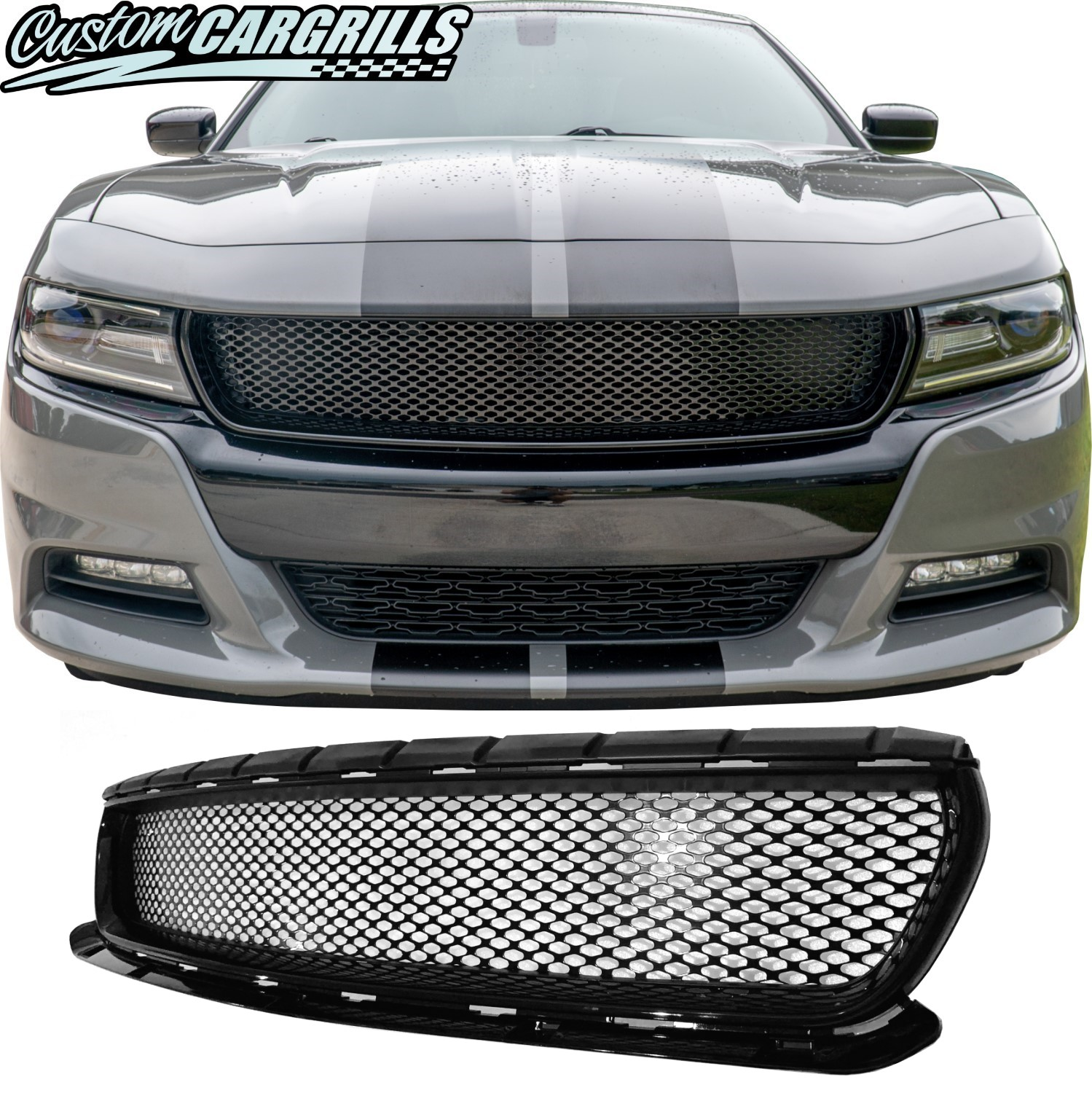 2015 - 2020 Dodge Charger Crosshair Delete Full Replacement
