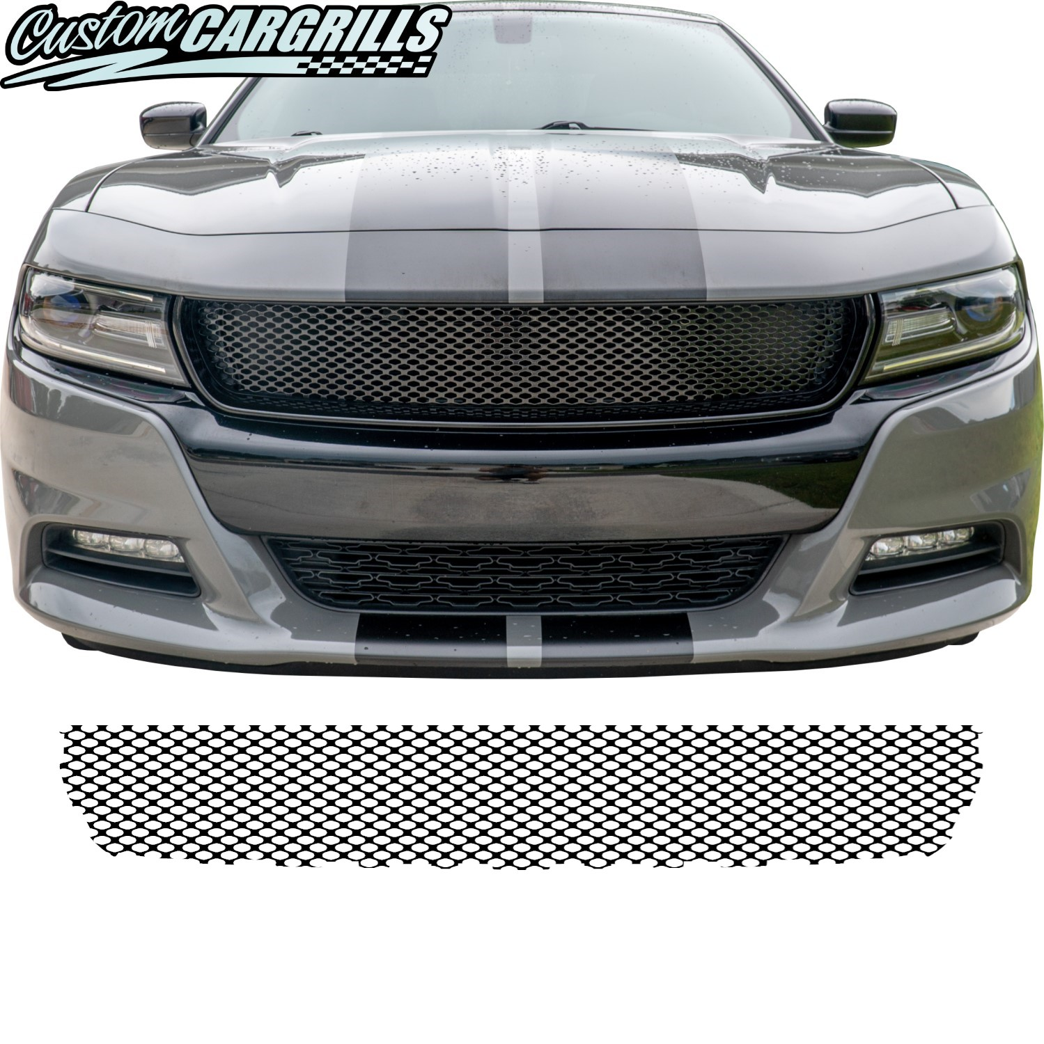 2015 - 2020 Dodge Charger Crosshair Delete Mesh Piece
