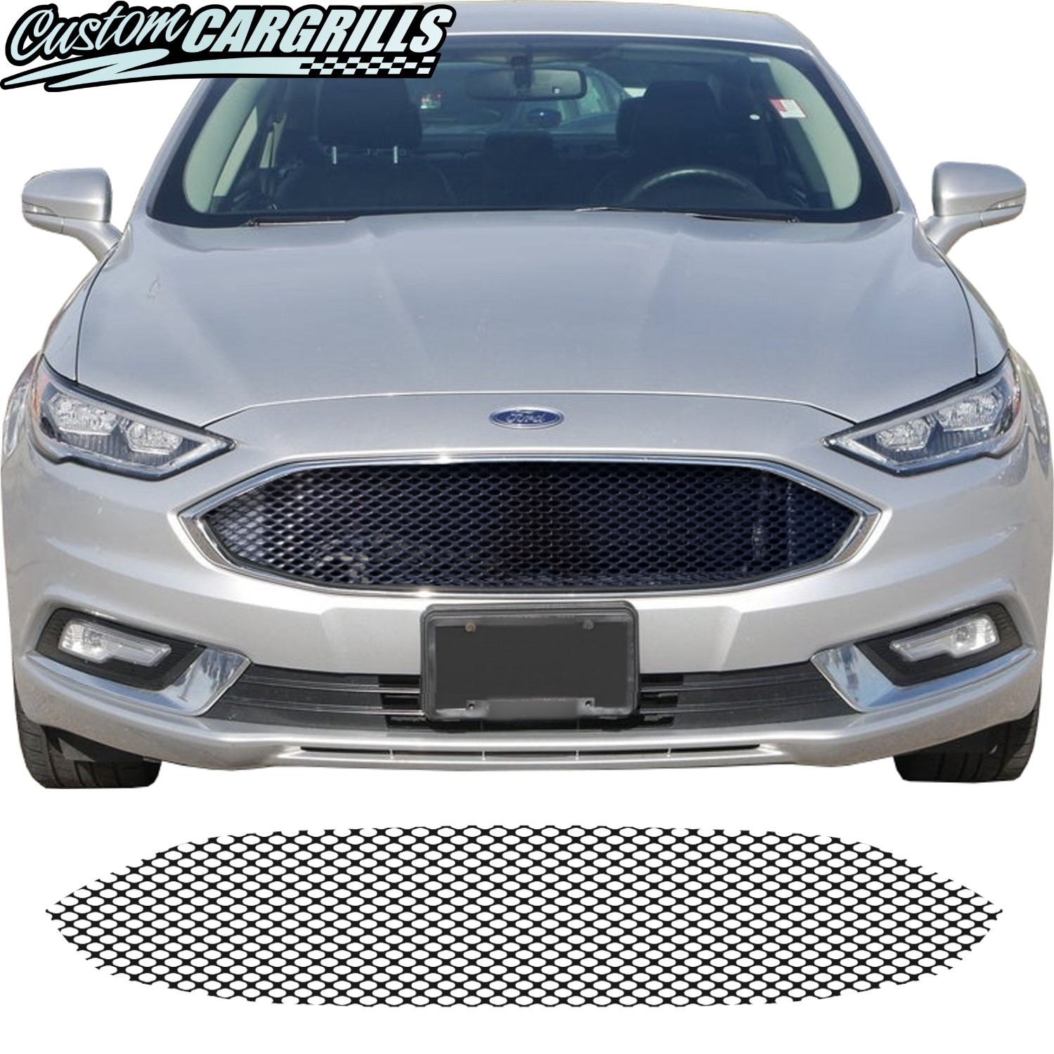 2017 - 2020 Ford Fusion Mesh Grill Piece