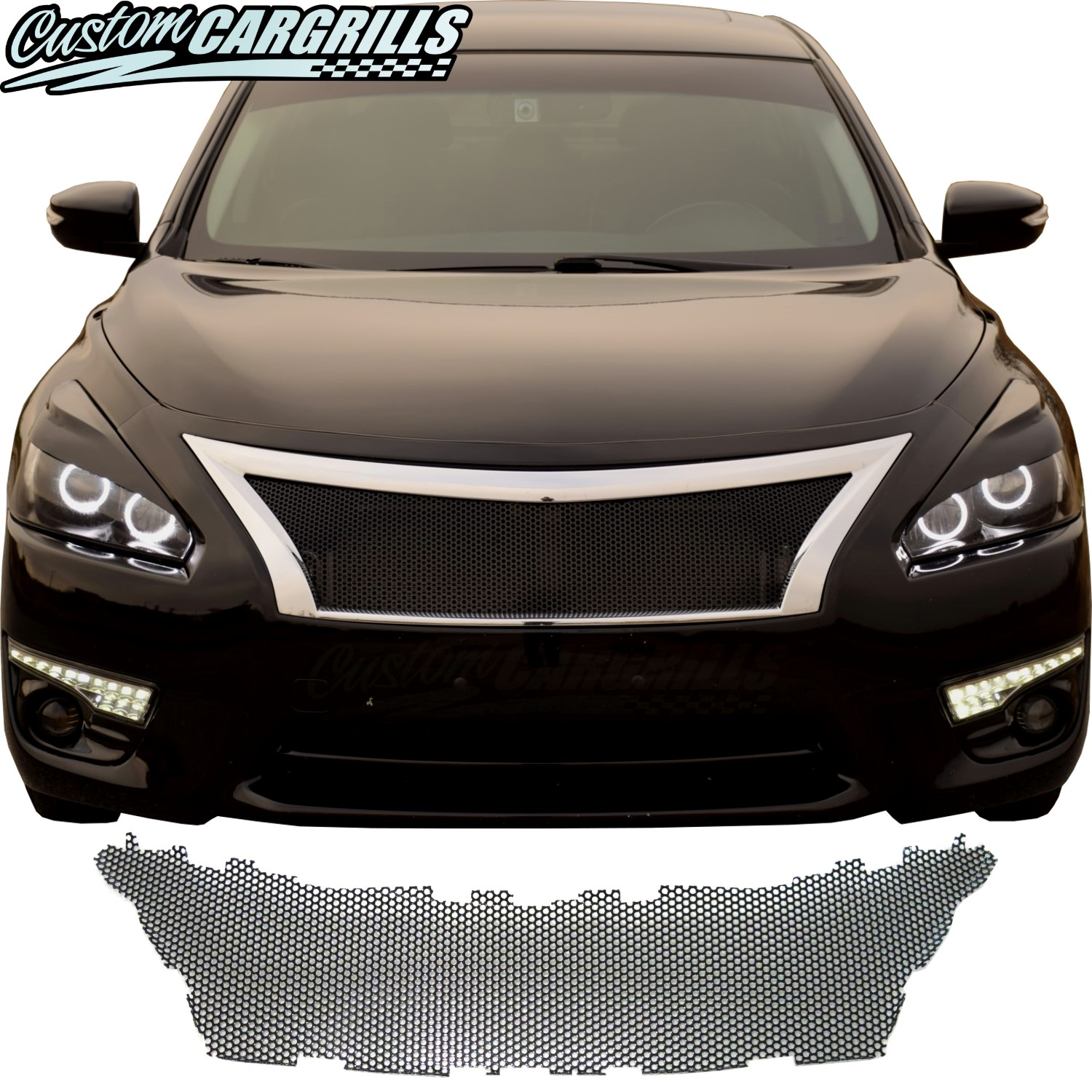 2013 - 2015 Nissan Altima Mesh Grill Piece