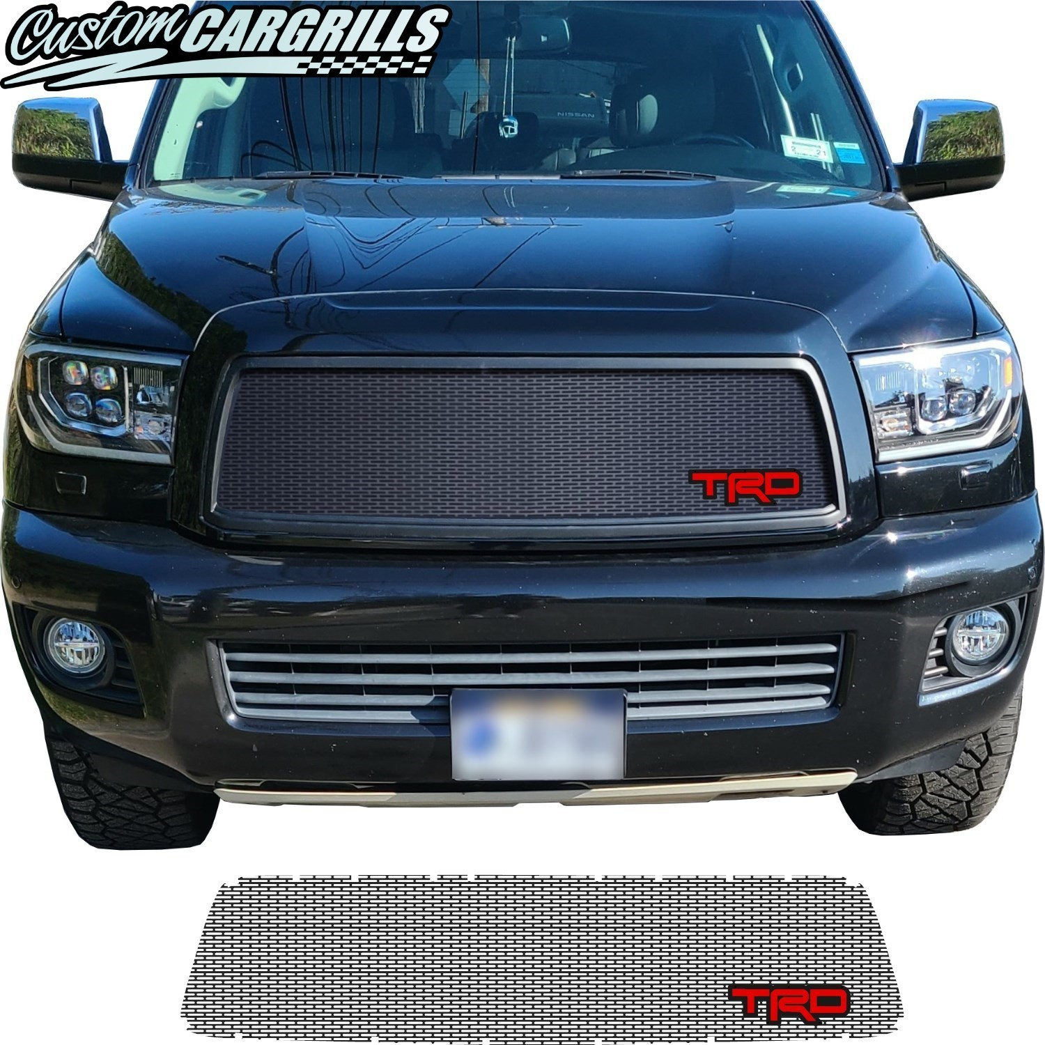 2008 - 2017 Toyota Sequoia Grill Mesh with TRD Emblem