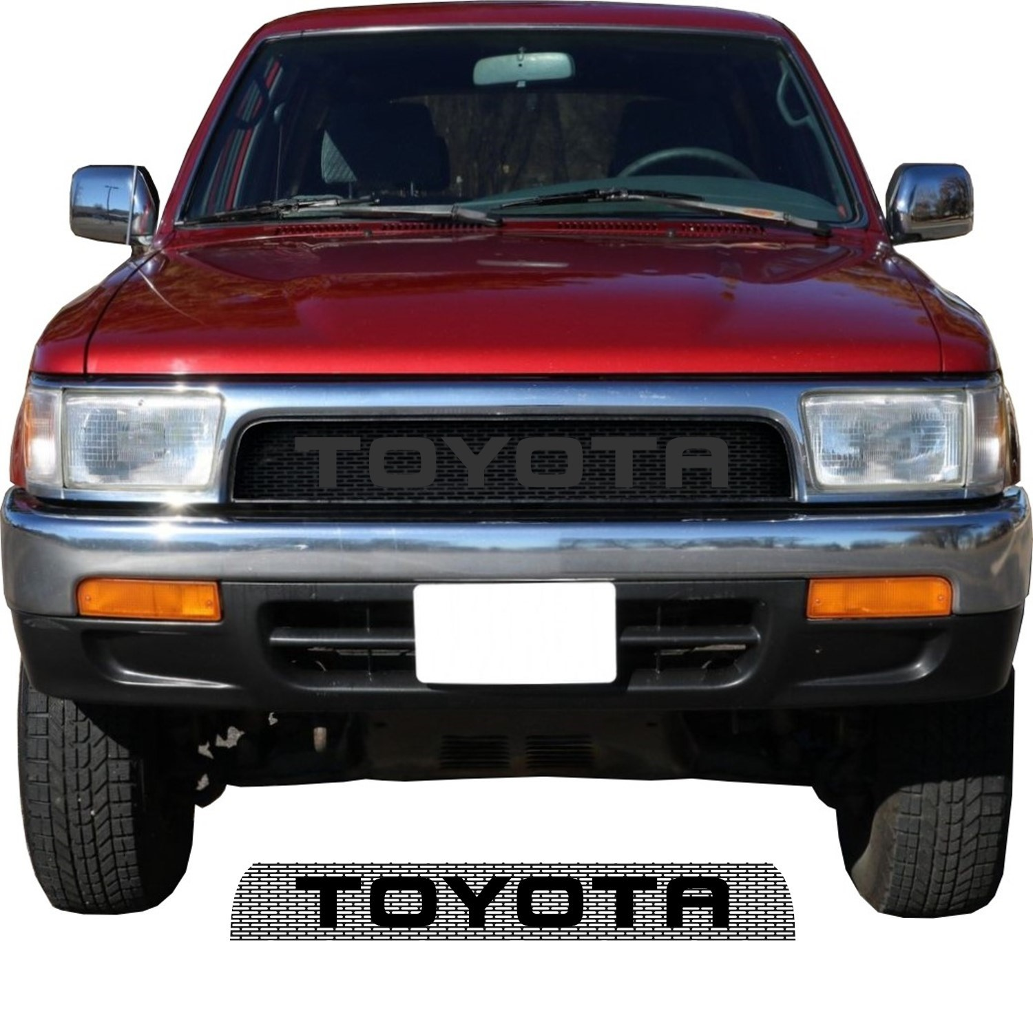 1992-95 Toyota 4Runner Grill Mesh With Big Letters
