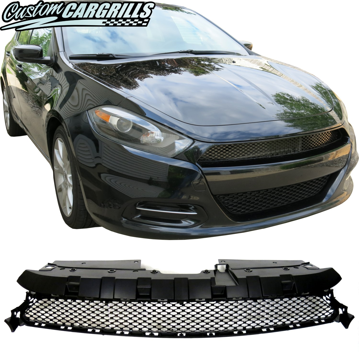2013 - 2016 Dodge Dart Crosshair Delete Full Replacement Grille