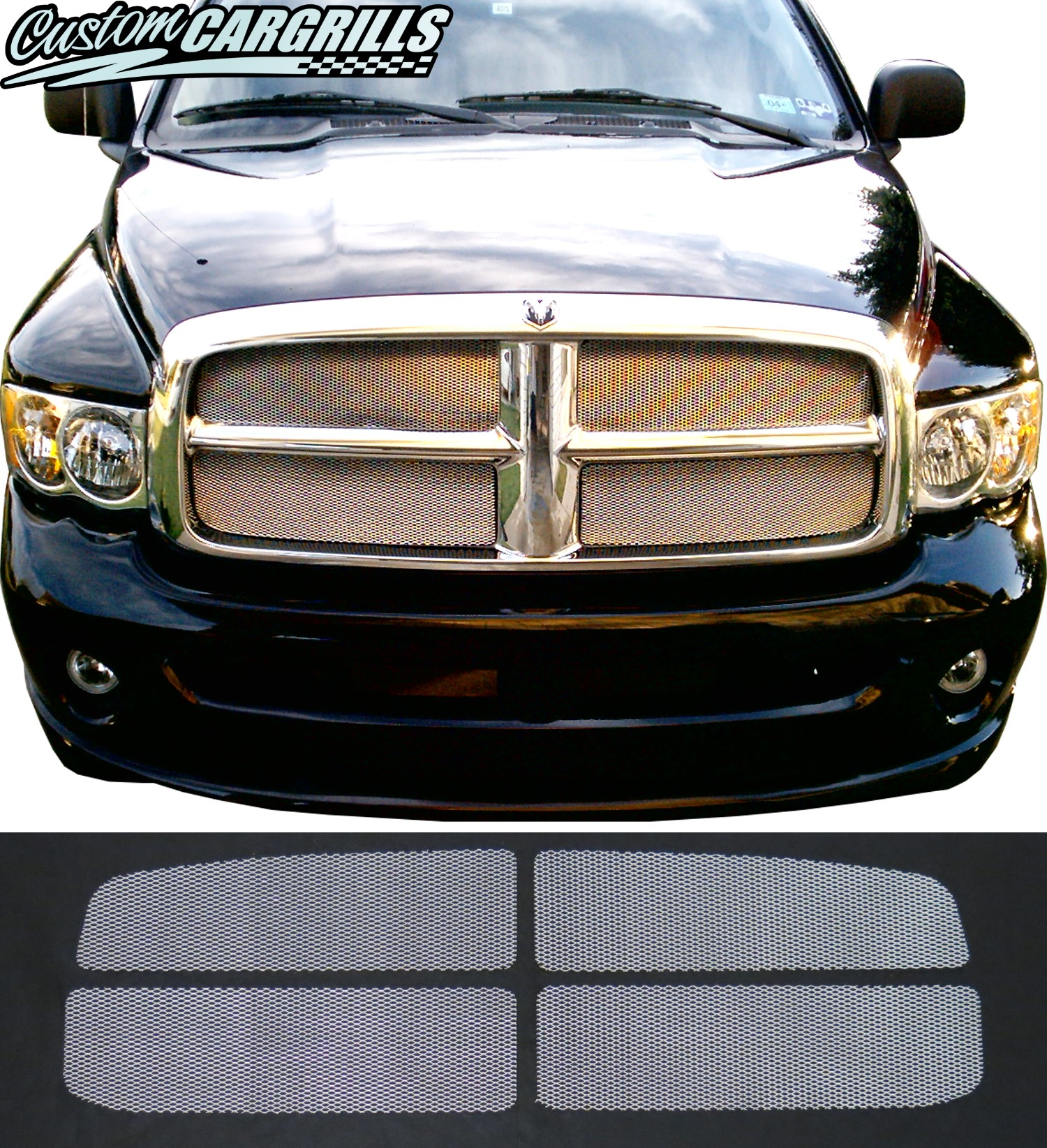 2002 - 2005 Dodge Ram Mesh Grill Kit