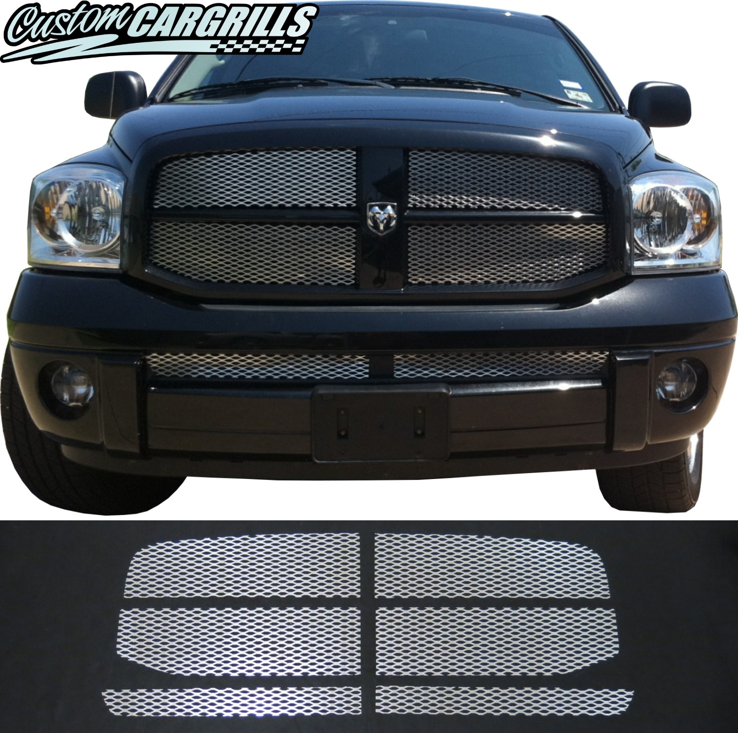 2006 - 2008 Dodge Ram Mesh Grill Kit