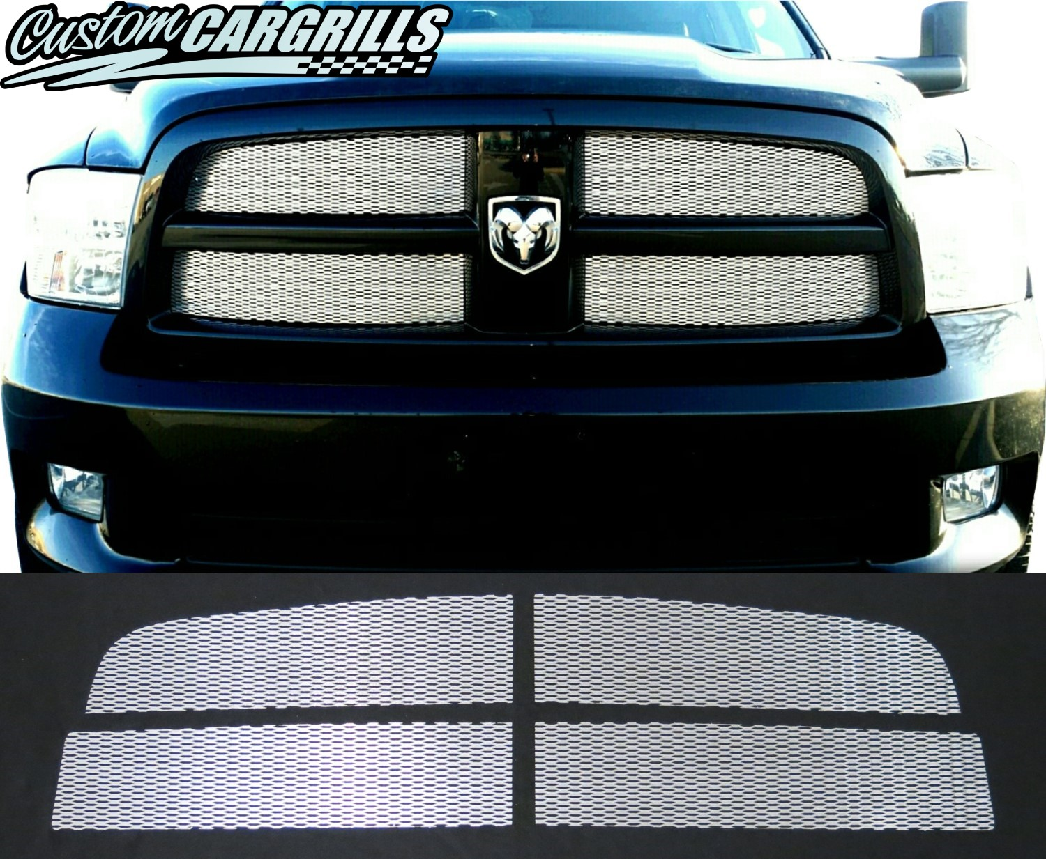 2009 - 2012 Dodge Ram Mesh Grill Kit