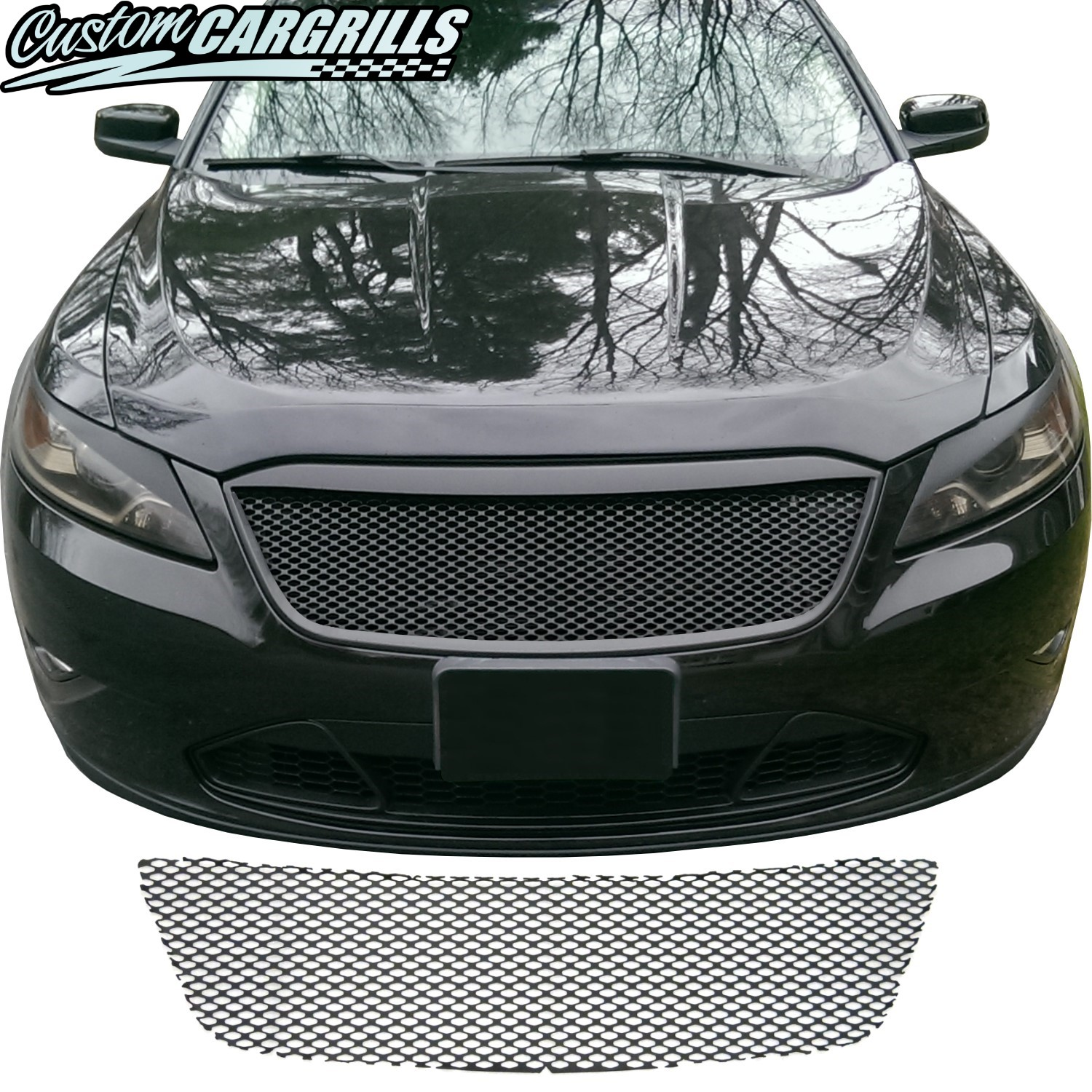 2010 - 2012 Ford Taurus Mesh Grill Piece